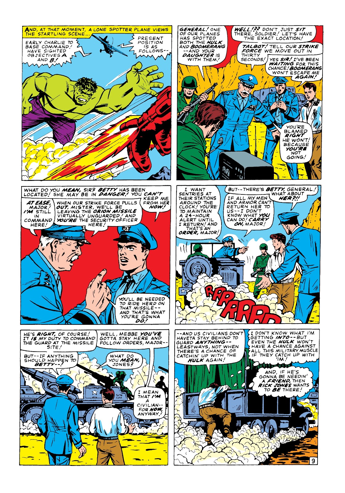 Read online Marvel Masterworks: The Incredible Hulk comic -  Issue # TPB 3 (Part 1) - 38