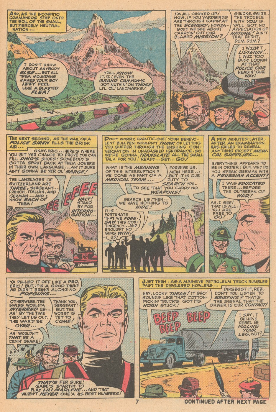 Read online Sgt. Fury comic -  Issue #105 - 9