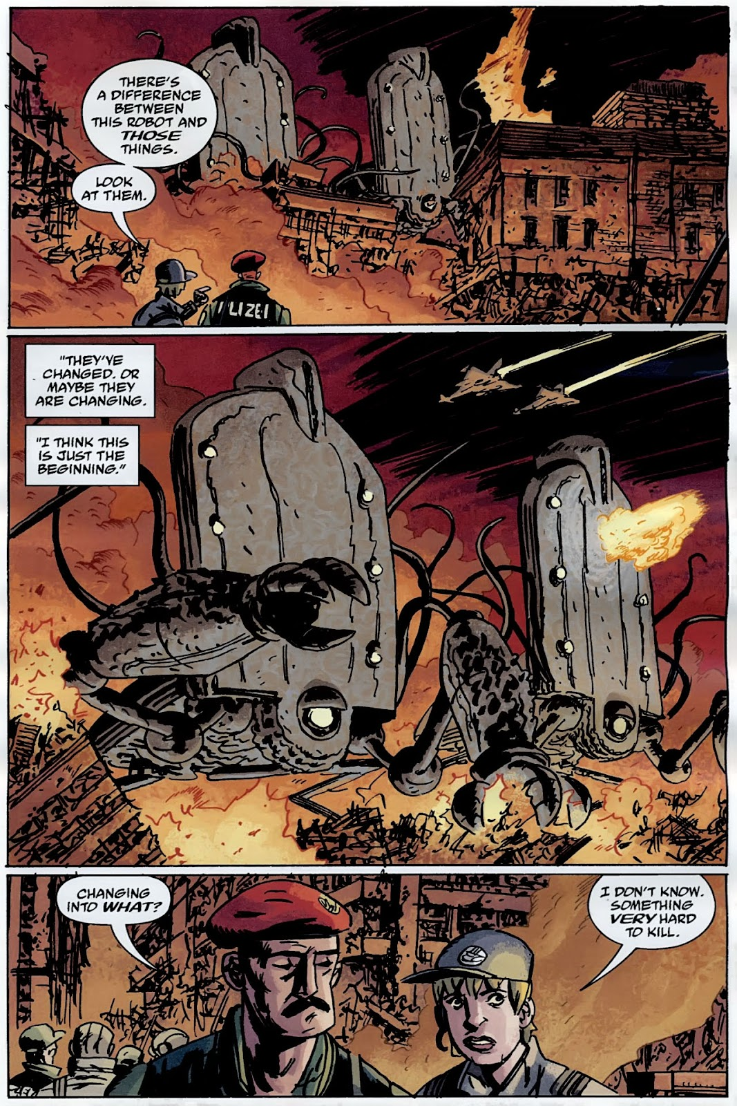 B.P.R.D.: The Warning issue 4 - Page 7