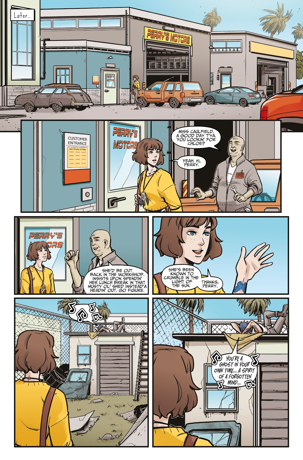 Read online Life is Strange comic -  Issue #5 - 20