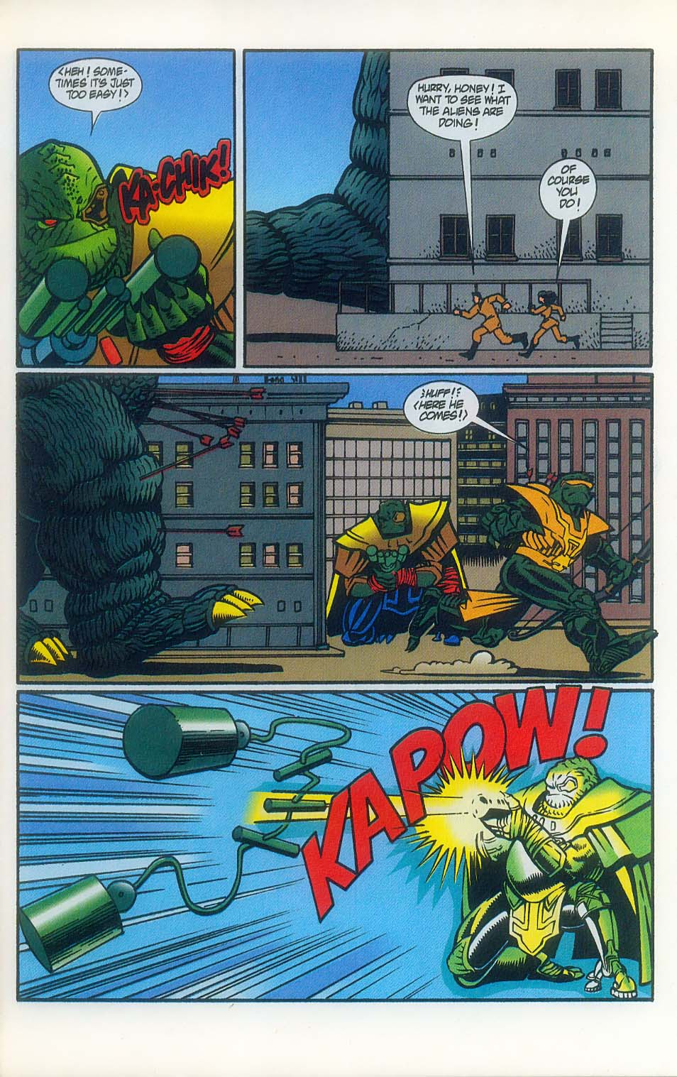 Godzilla (1995) Issue #7 #8 - English 14
