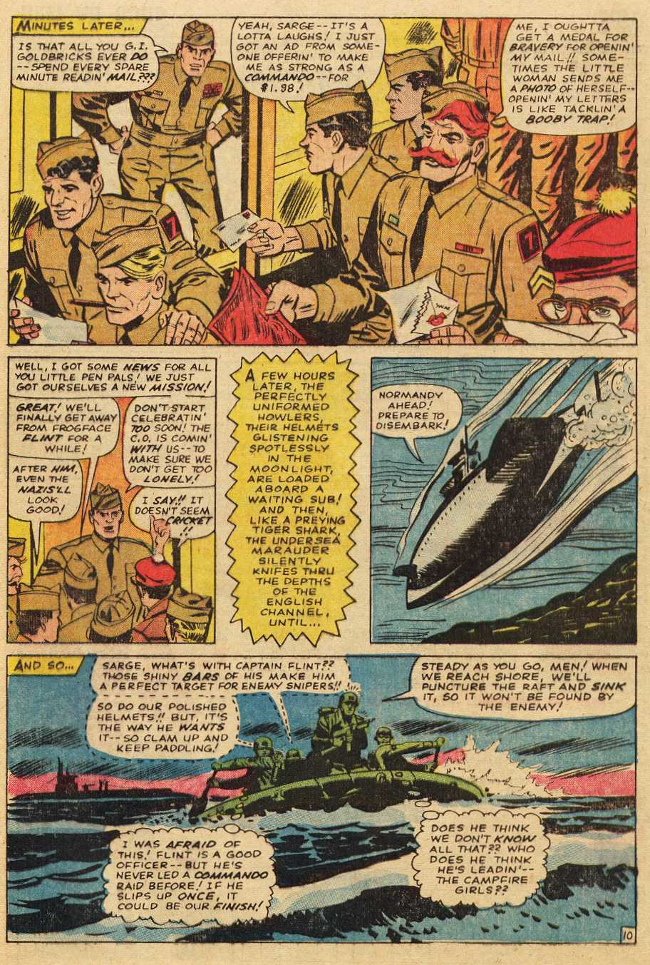 Read online Sgt. Fury comic -  Issue # _Special 2 - 52