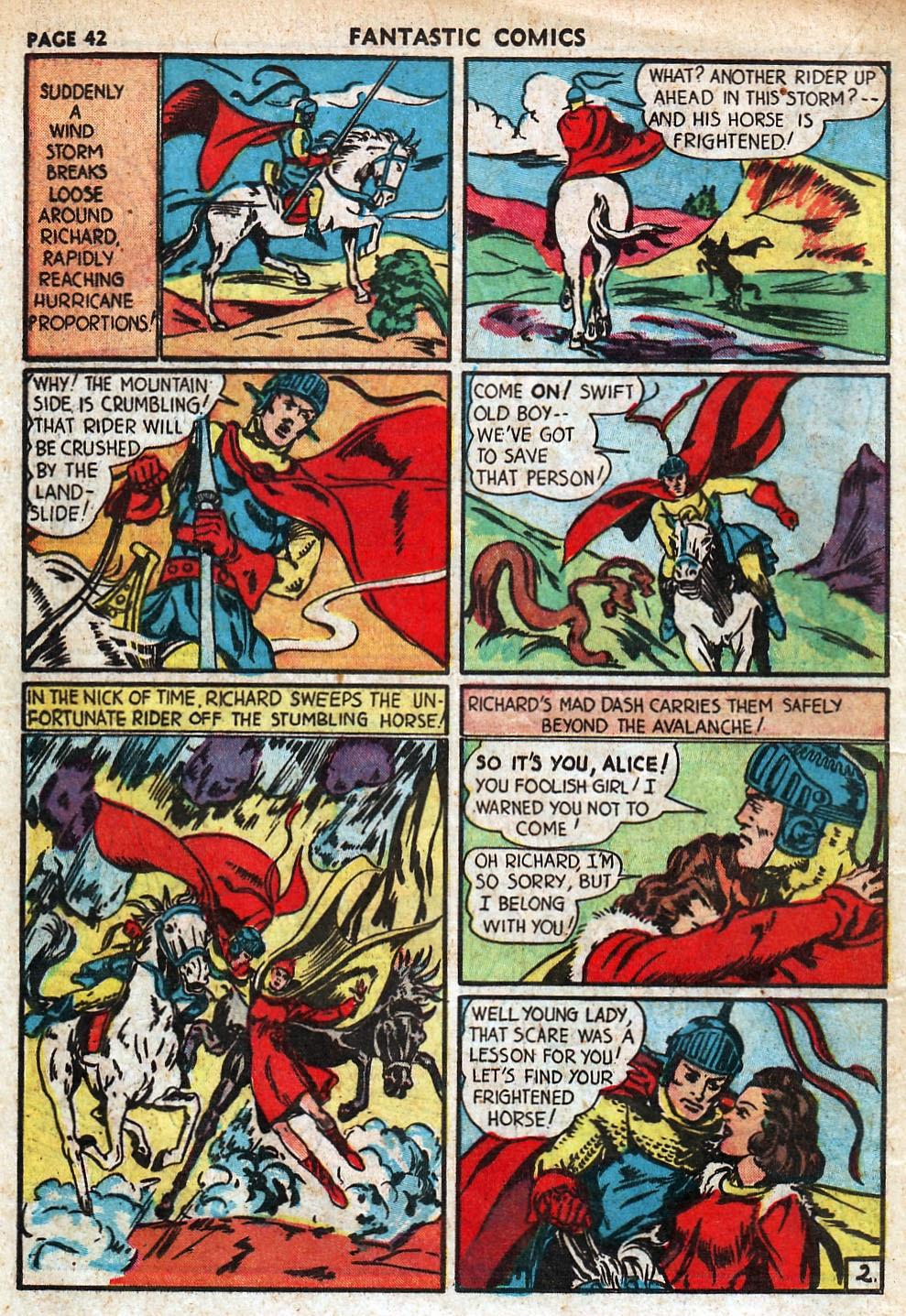 Read online Fantastic Comics comic -  Issue #18 - 44