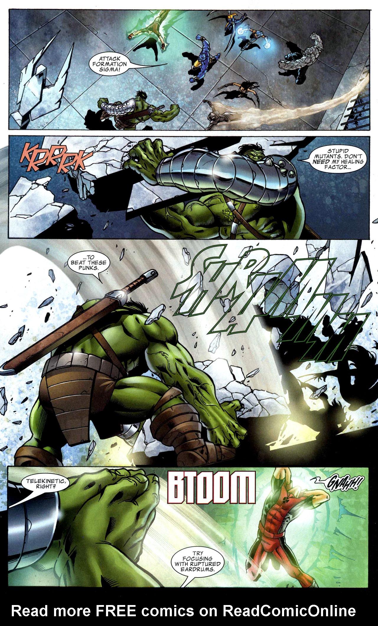 Read online World War Hulk: X-Men comic -  Issue #1 - 14