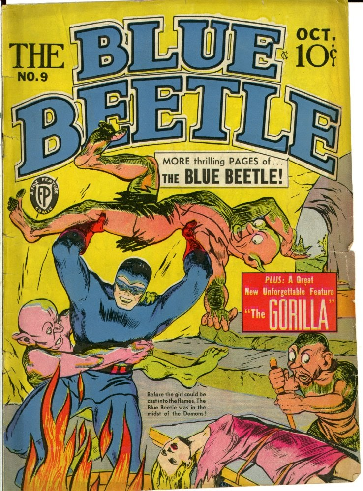 The Blue Beetle issue 9 - Page 1