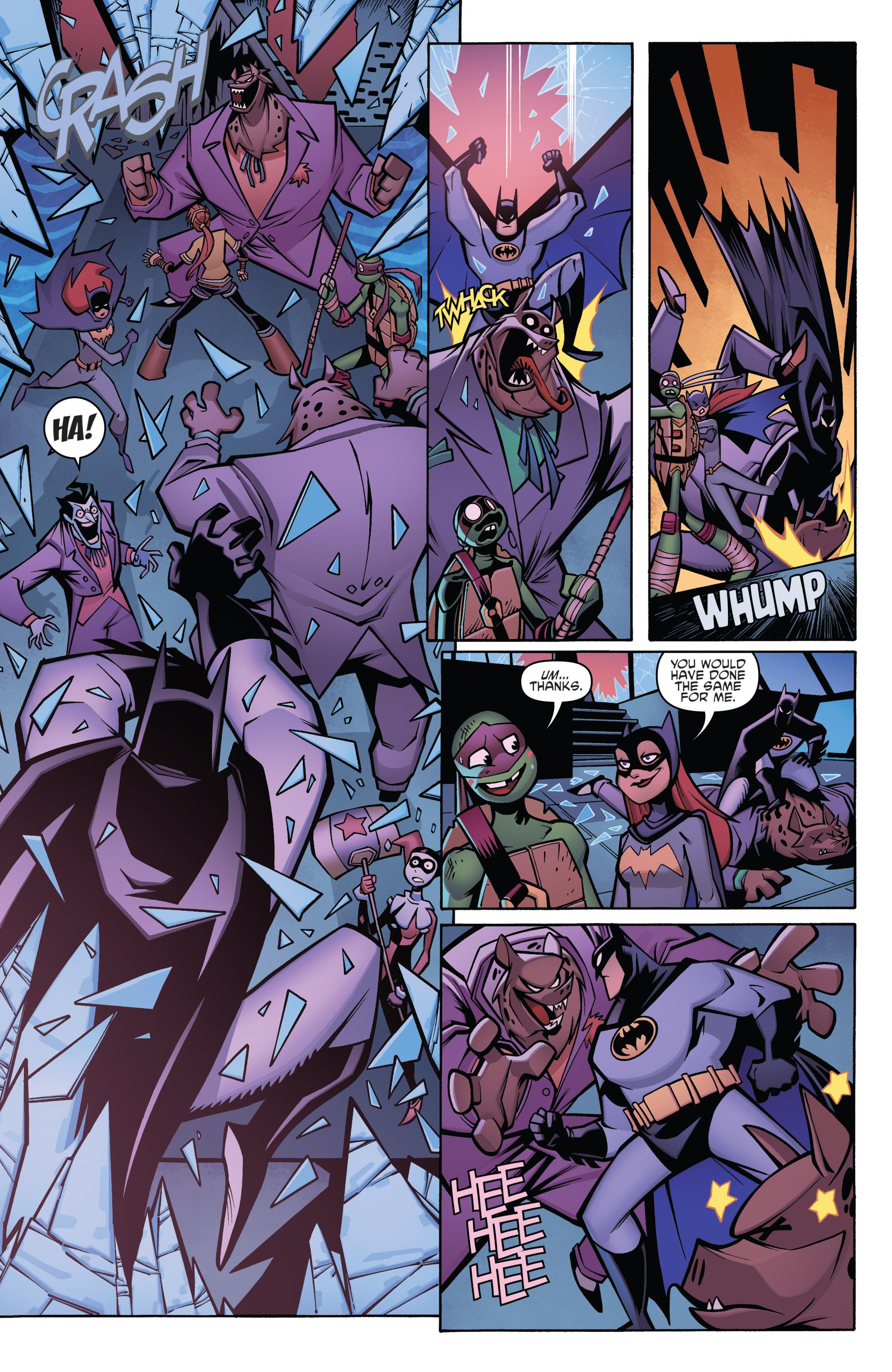 Read online Batman/Teenage Mutant Ninja Turtles Adventure comic -  Issue #4 - 18