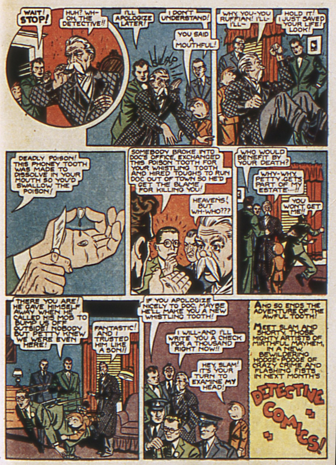 Read online Detective Comics (1937) comic -  Issue #67 - 65