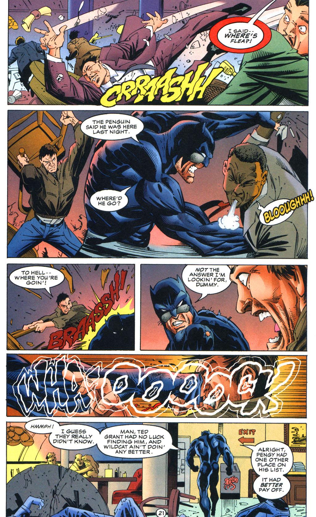Read online Batman/Wildcat comic -  Issue #1 - 21