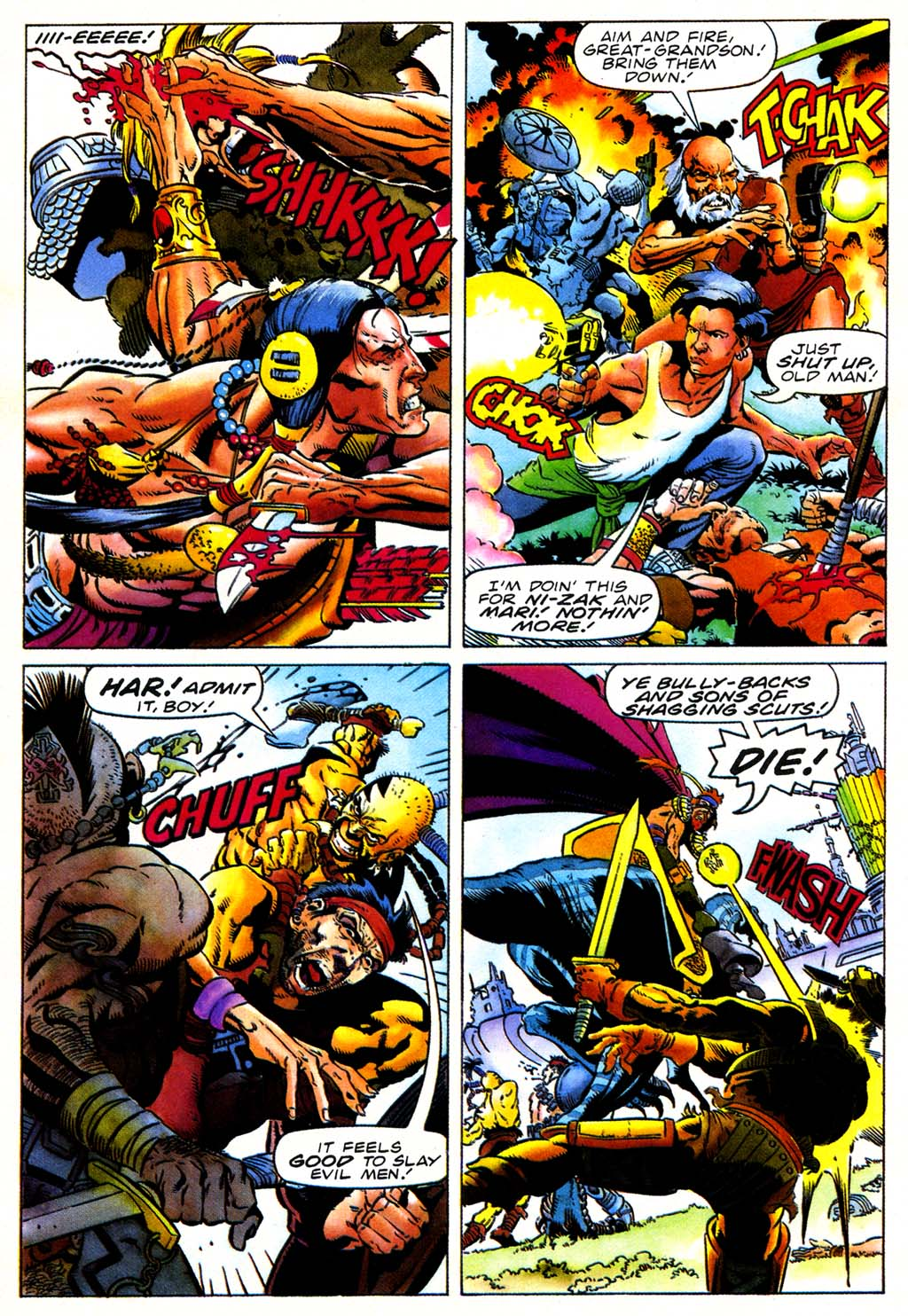 Read online Turok, Dinosaur Hunter (1993) comic -  Issue #27 - 10