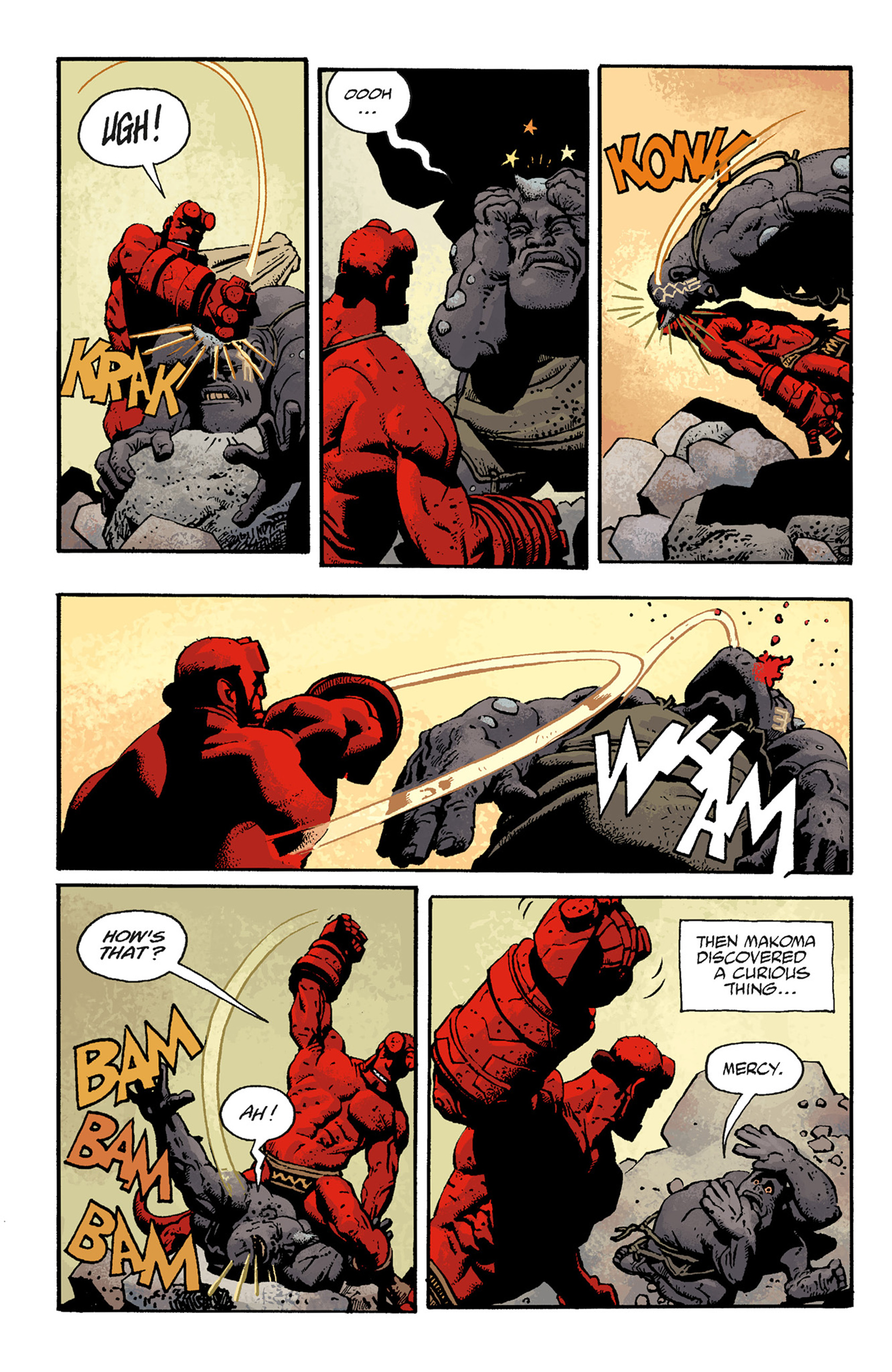 Read online Hellboy: The Troll Witch and Others comic -  Issue # TPB - 96