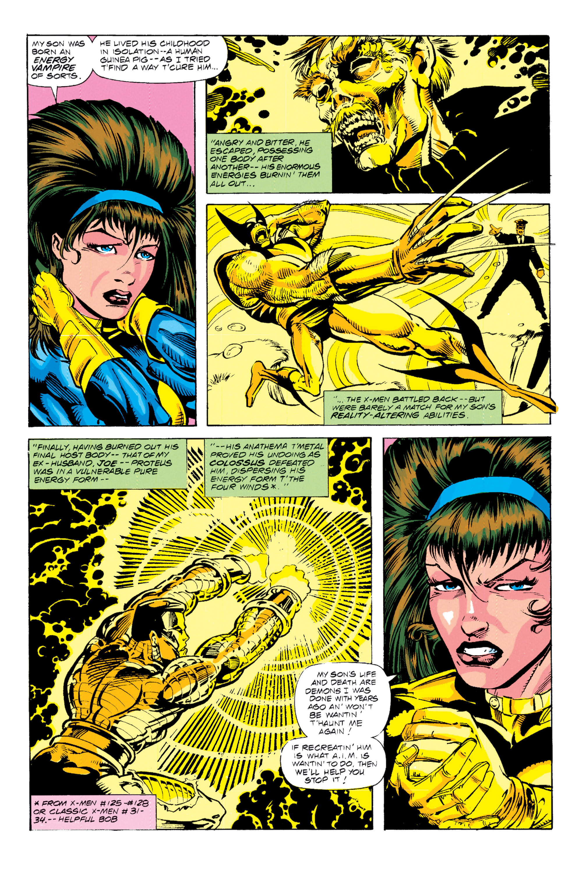 Read online Uncanny X-Men (1963) comic -  Issue # _Annual 15 - 16