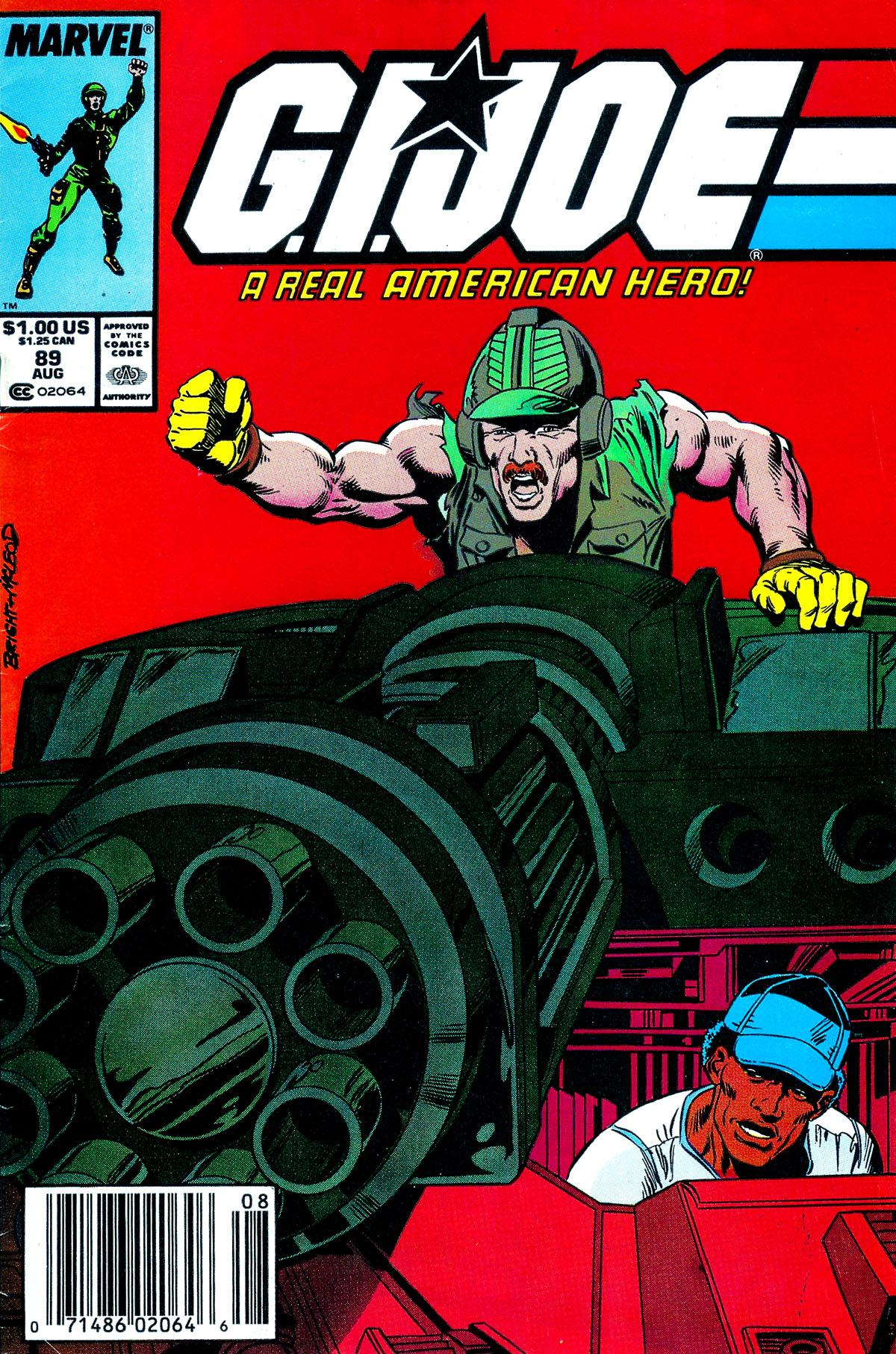 G.I. Joe: A Real American Hero 89 Page 1