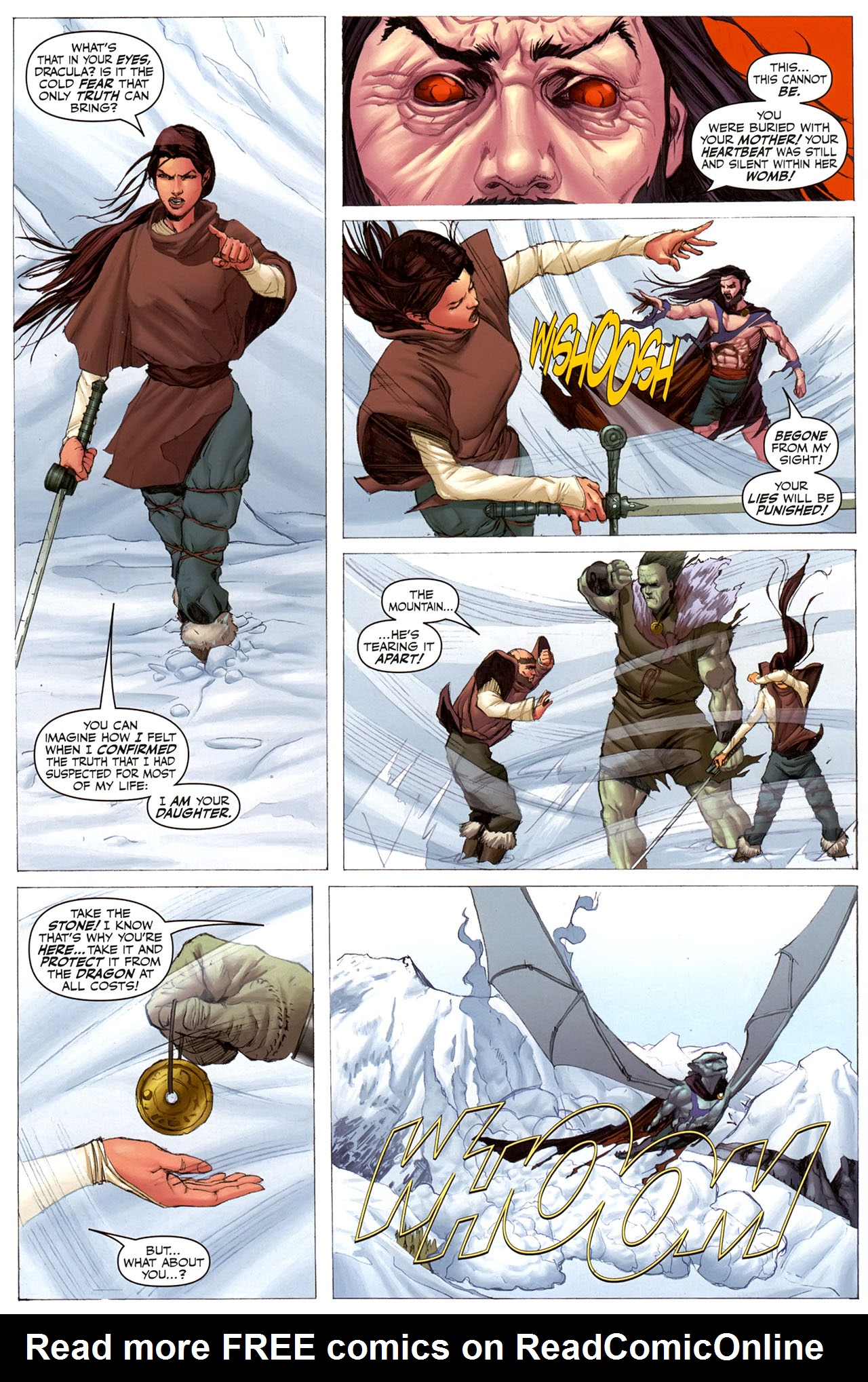 Read online Eva: Daughter of the Dragon comic -  Issue # Full - 13