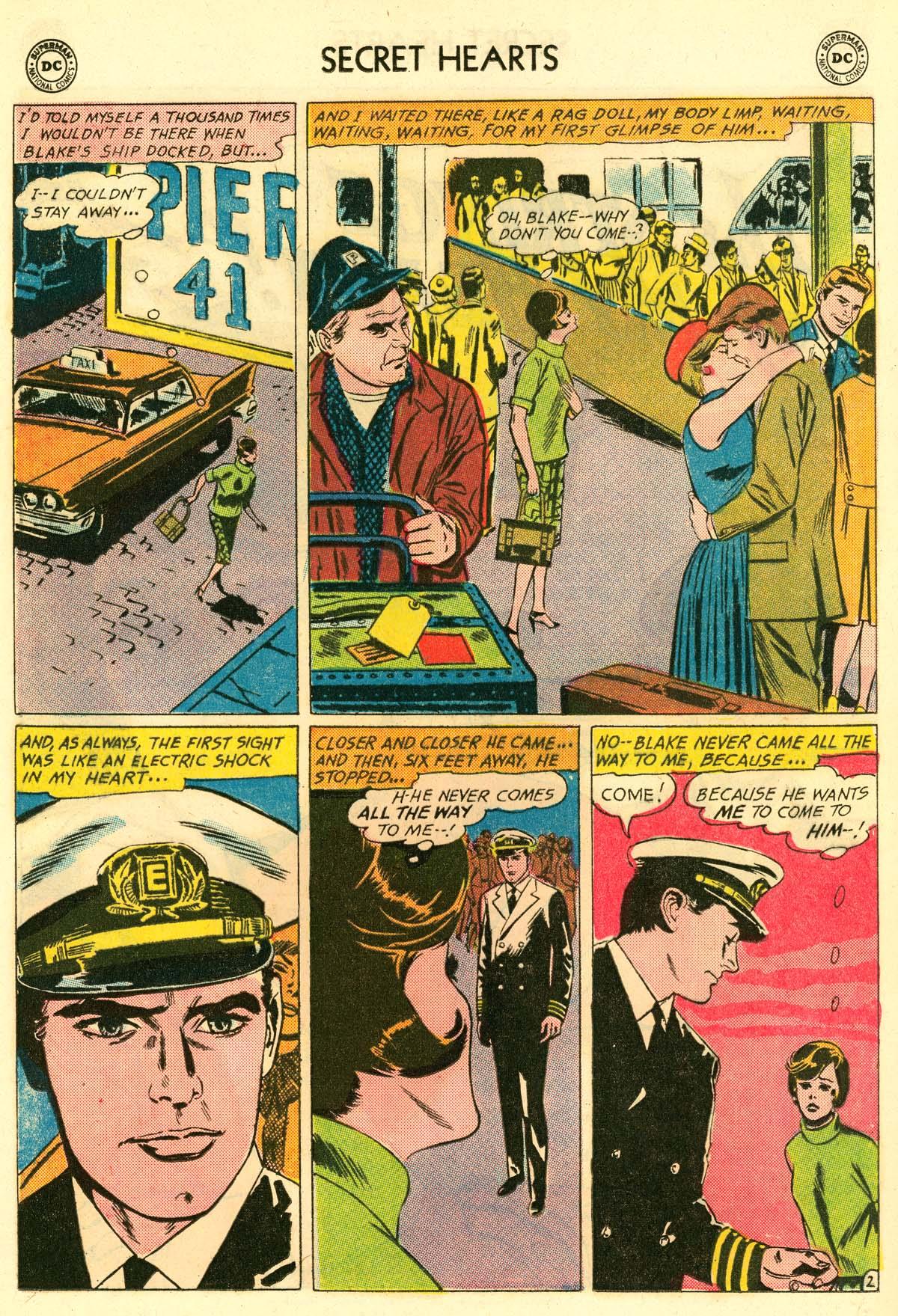 Read online Secret Hearts comic -  Issue #106 - 20