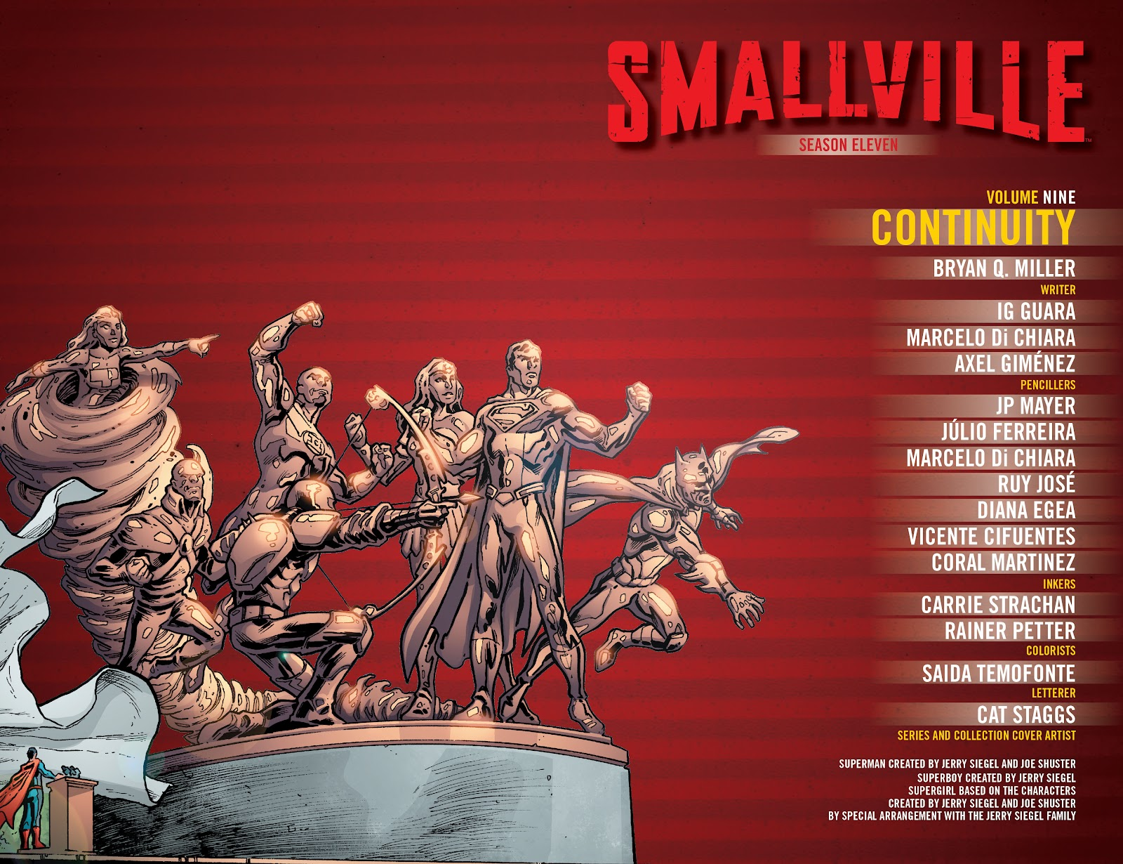 Read online Smallville Season 11 [II] comic -  Issue # TPB 9 - 3