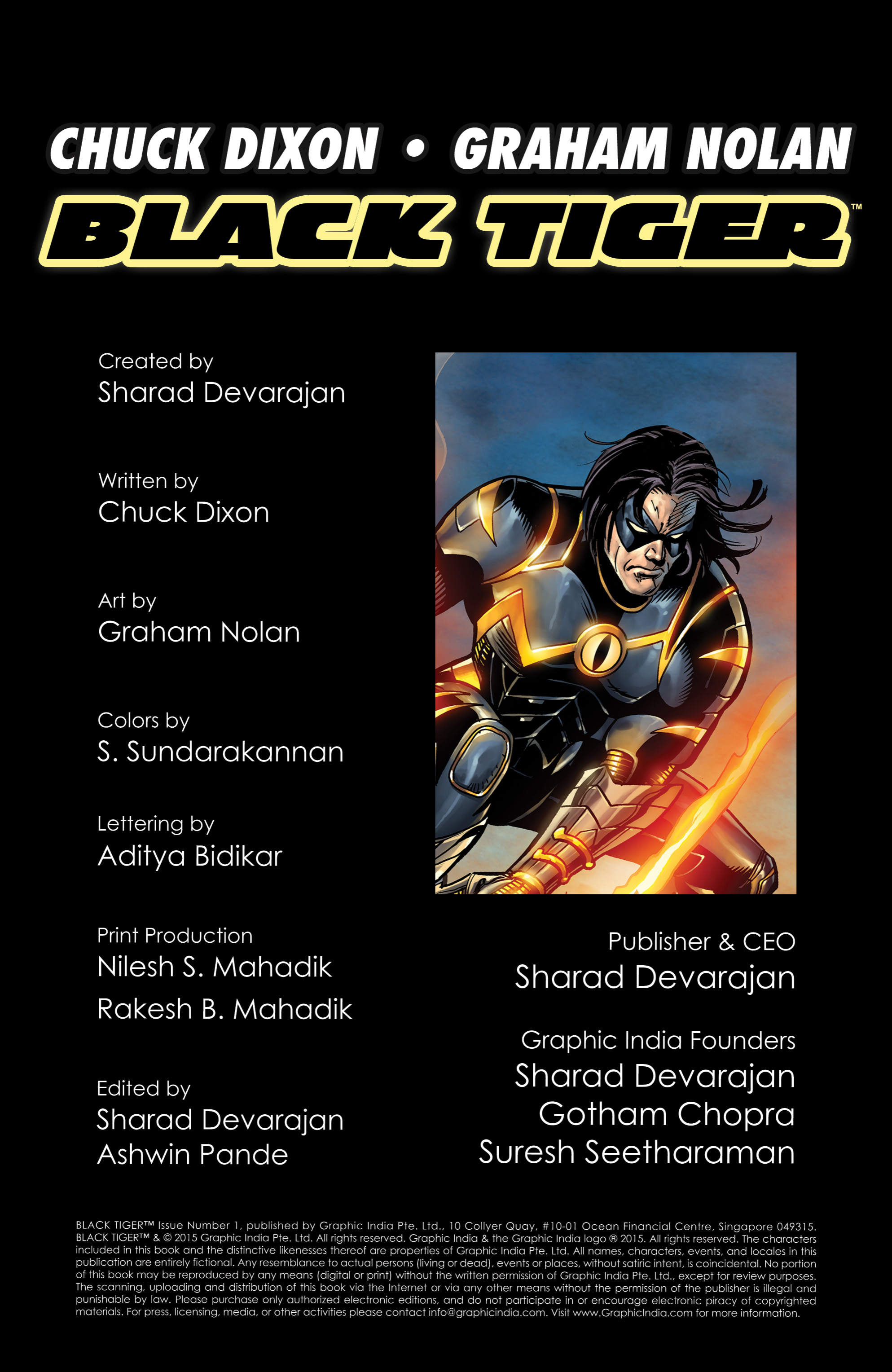 Read online Shadow Tiger comic -  Issue #1 - 2