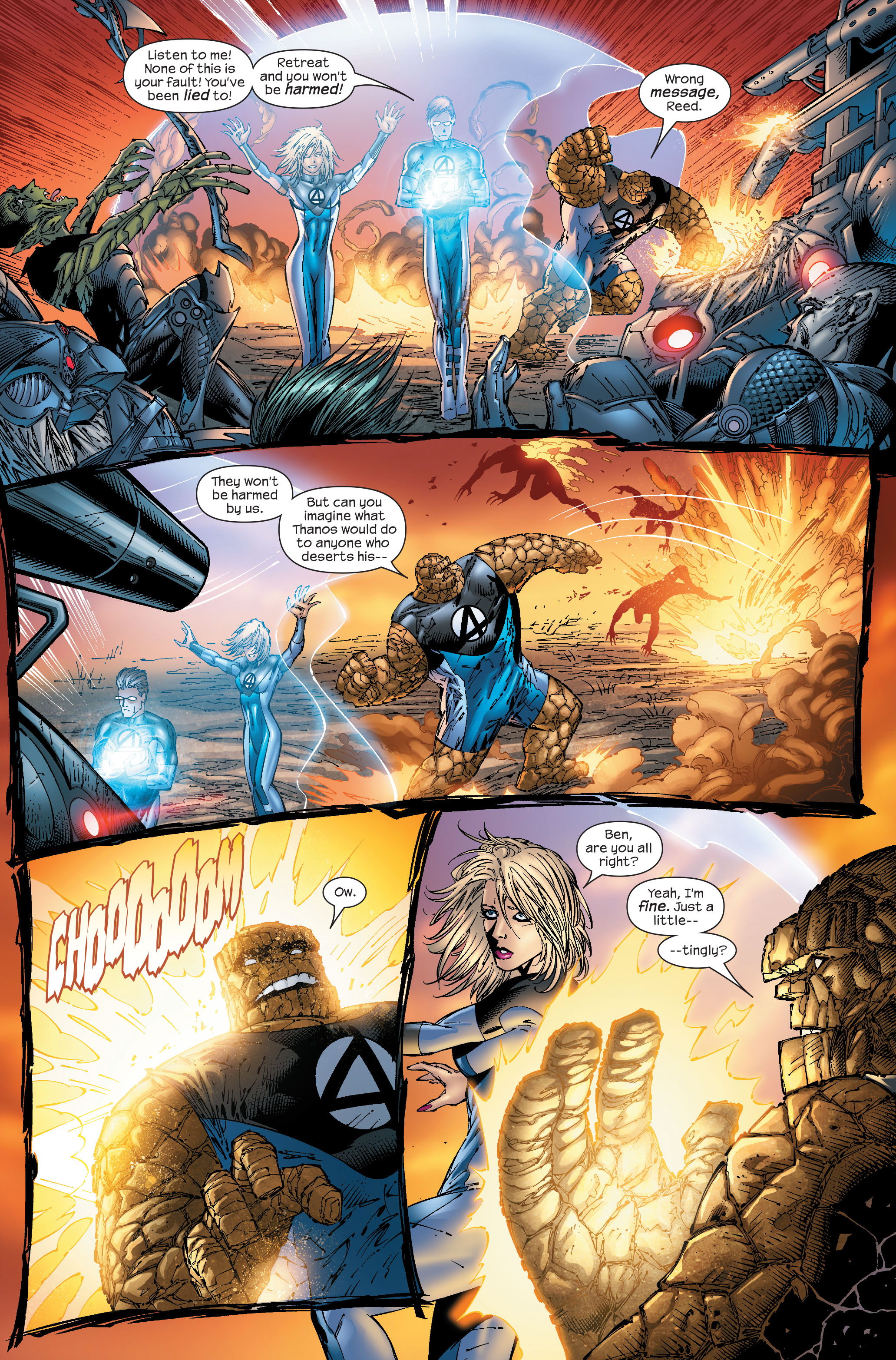 Read online Ultimate Fantastic Four (2004) comic -  Issue #51 - 16