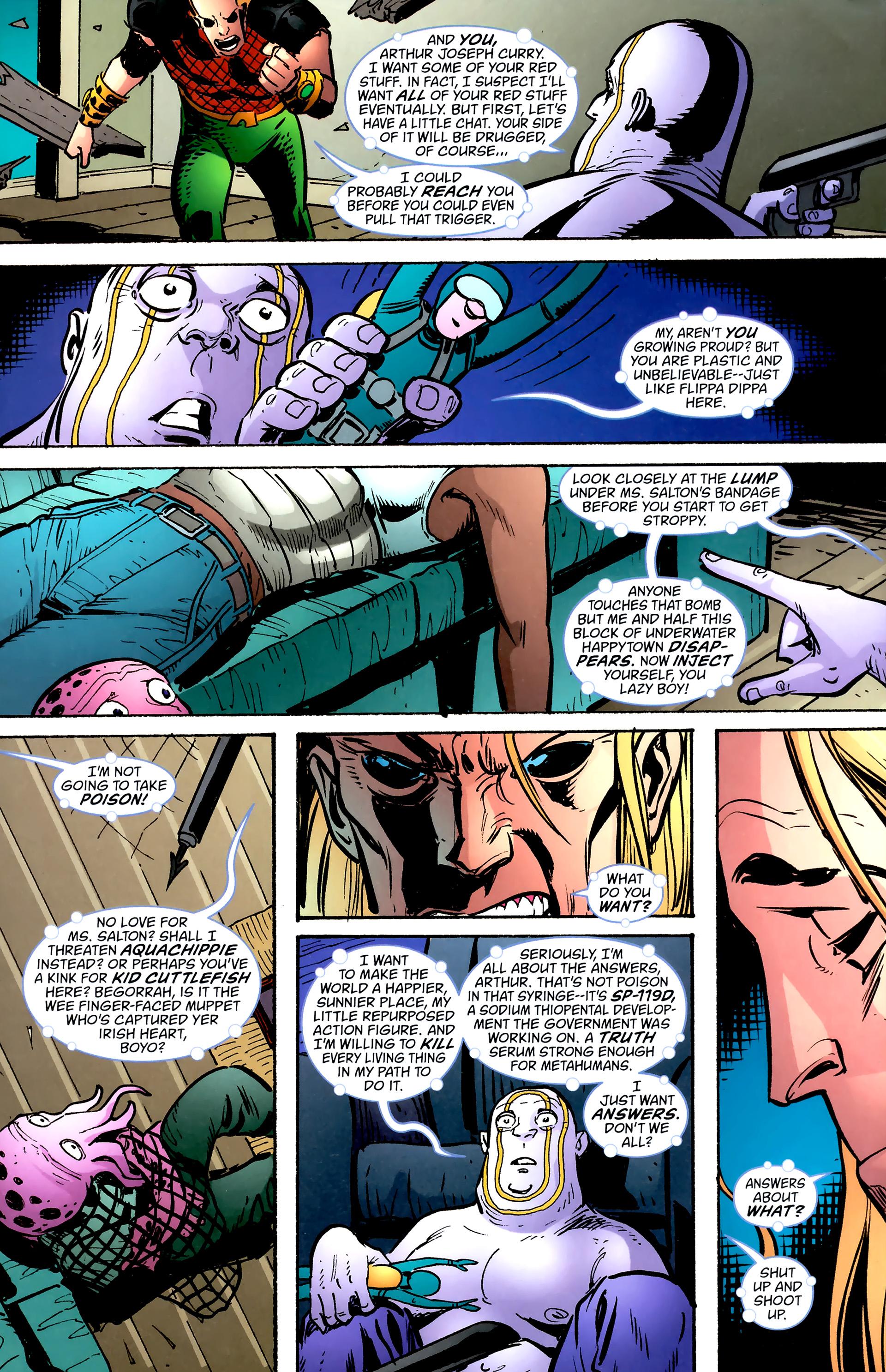 Read online Aquaman: Sword of Atlantis comic -  Issue #57 - 10
