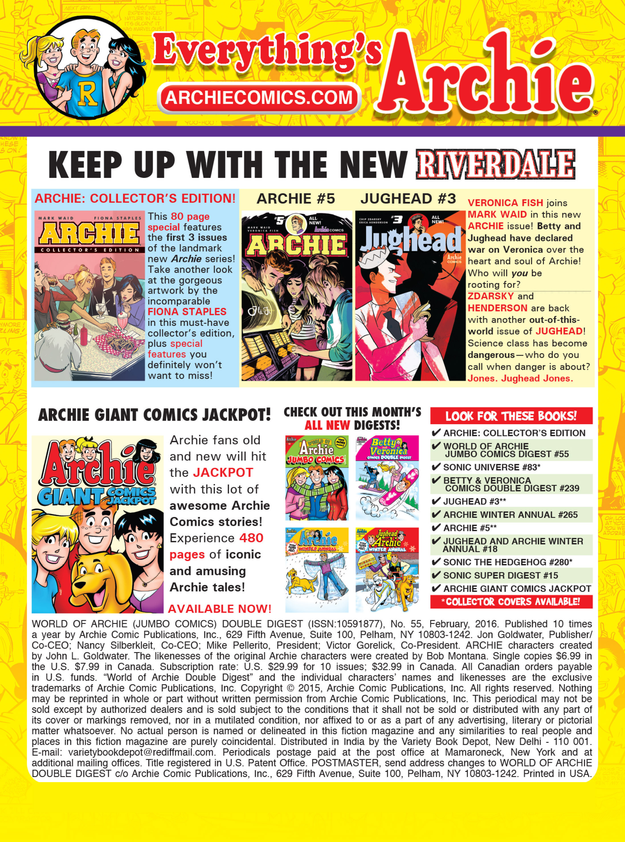 Read online World of Archie Double Digest comic -  Issue #55 - 249