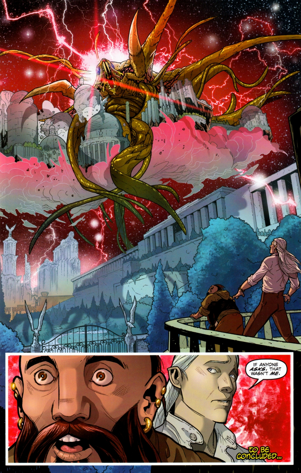 Read online Infestation 2: Dungeons & Dragons comic -  Issue #1 - 25