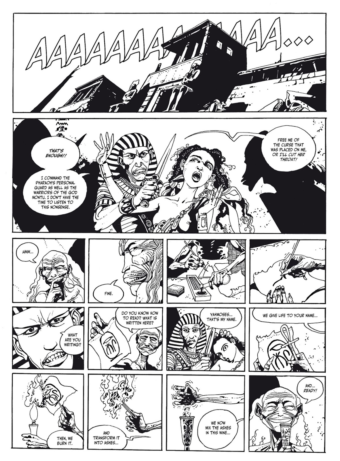 Read online The Egyptian Princesses comic -  Issue # TPB 1 (Part 1) - 70