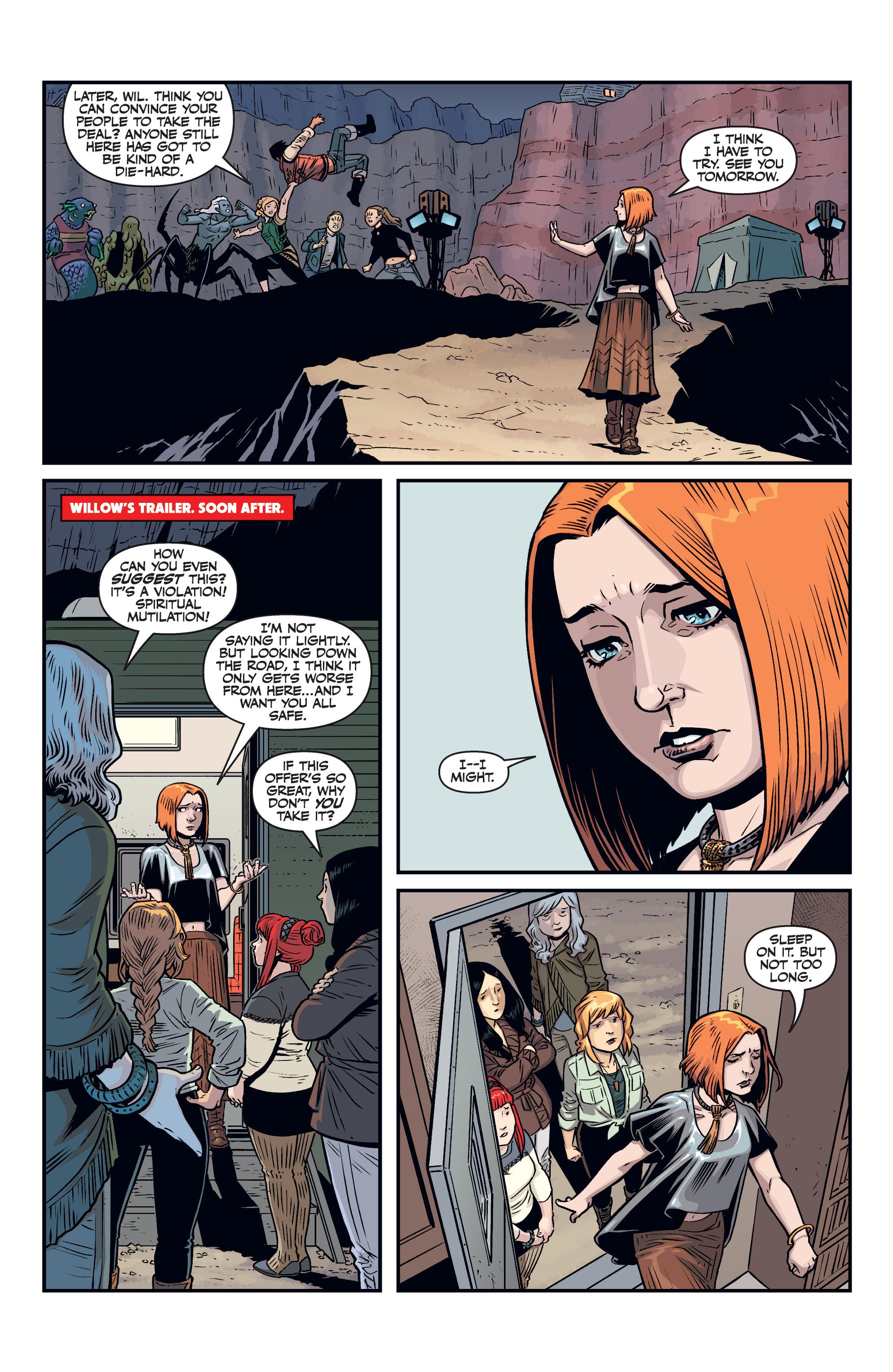 Read online Buffy the Vampire Slayer Season 11 comic -  Issue #7 - 8