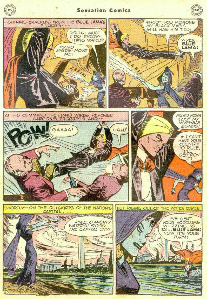 Read online Sensation (Mystery) Comics comic -  Issue #74 - 27