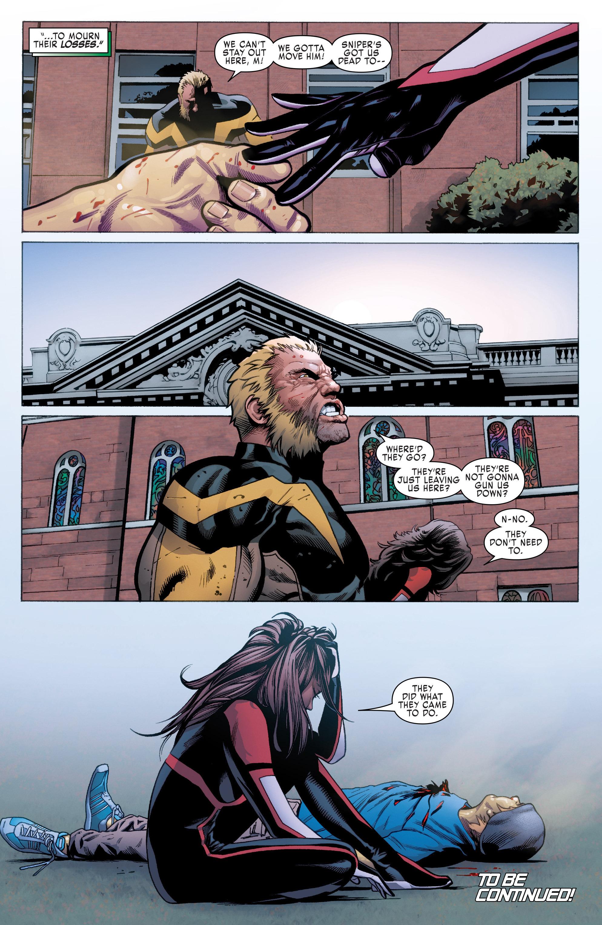 Read online Uncanny X-Men (2016) comic -  Issue #2 - 22