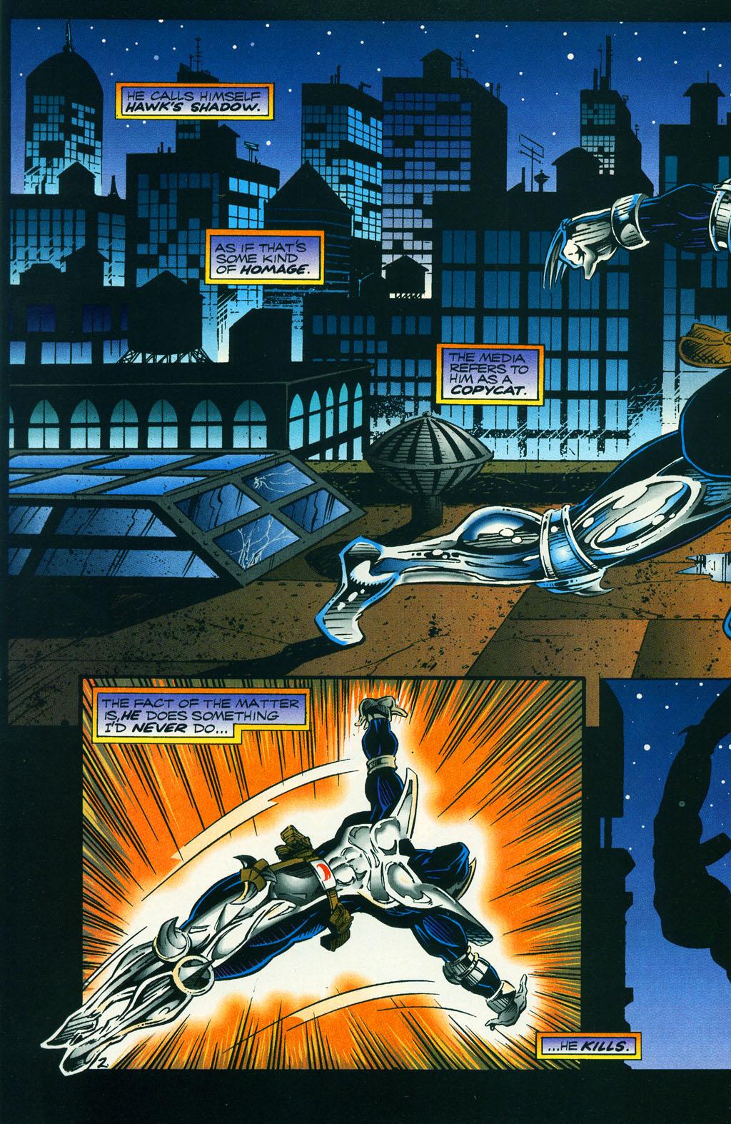 Read online ShadowHawk comic -  Issue #5 - 5