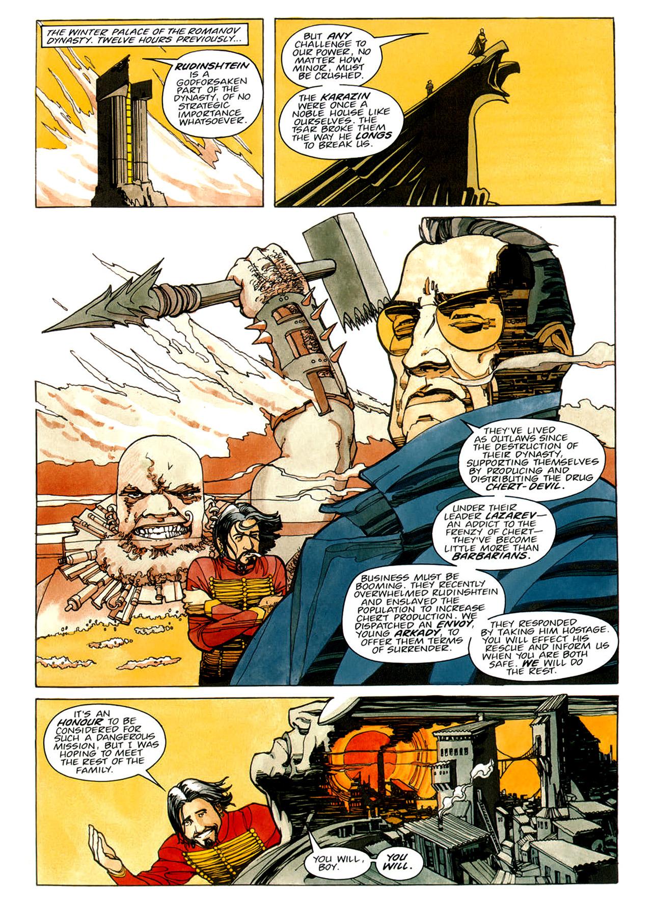 Read online Nikolai Dante comic -  Issue # TPB 1 - 67