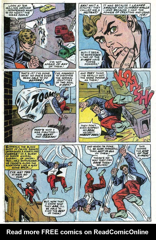 Read online Uncanny X-Men (1963) comic -  Issue #69 - 33