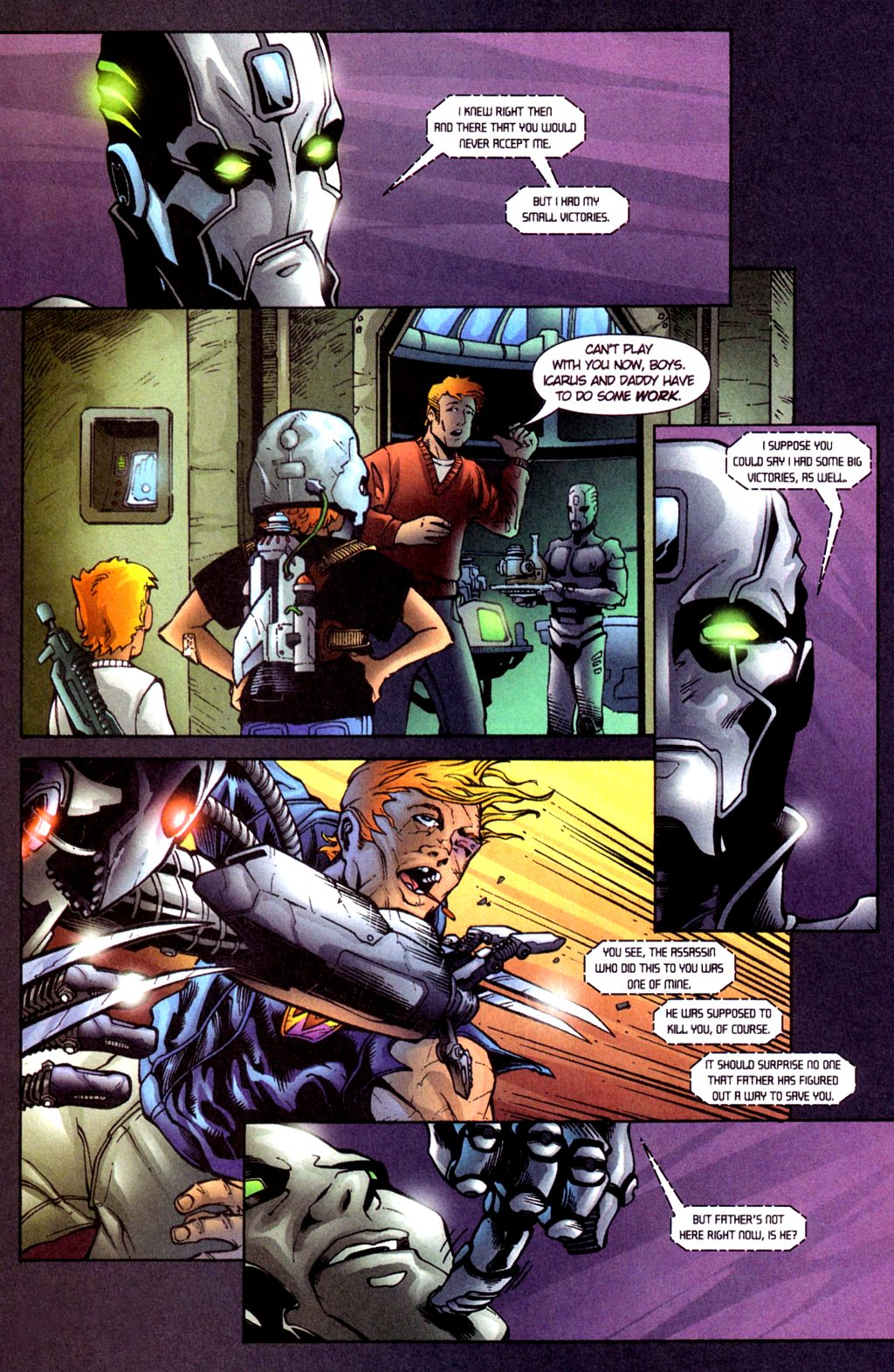Read online Noble Causes (2002) comic -  Issue #4 - 23