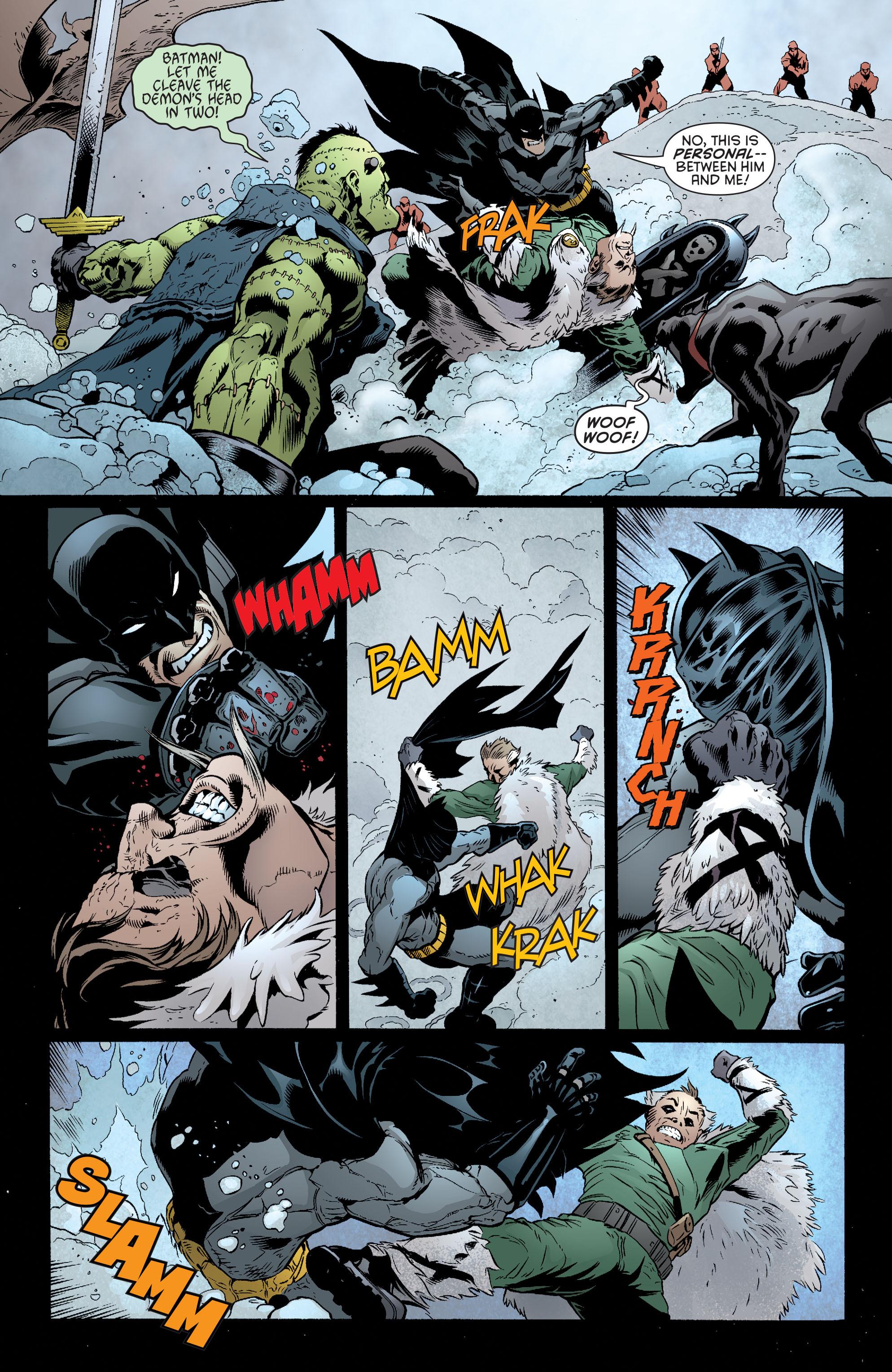 Read online Batman and Robin (2011) comic -  Issue #32 - Batman and Ra's al Ghul - 17