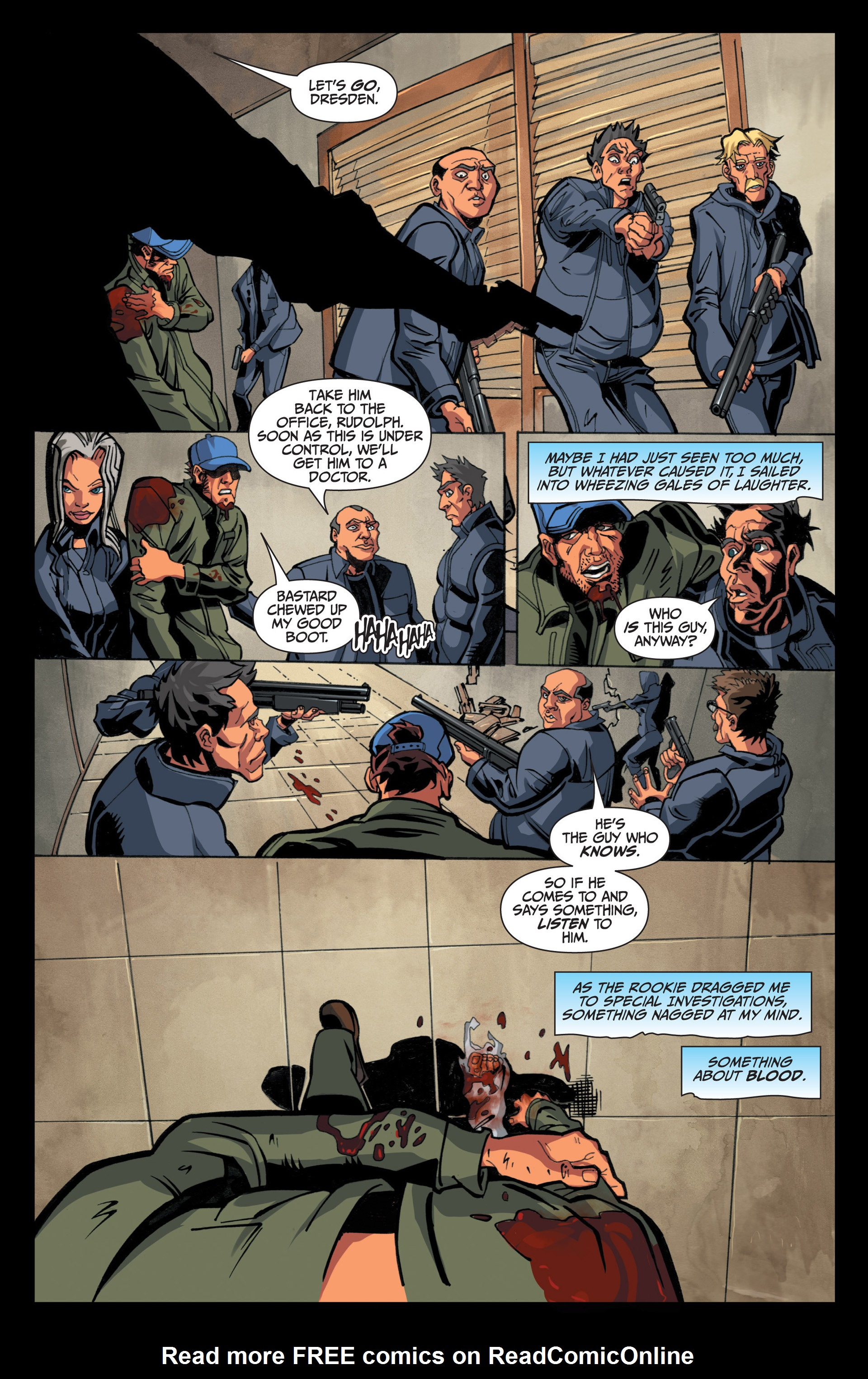 Read online Jim Butcher's The Dresden Files: Fool Moon comic -  Issue #5 - 18