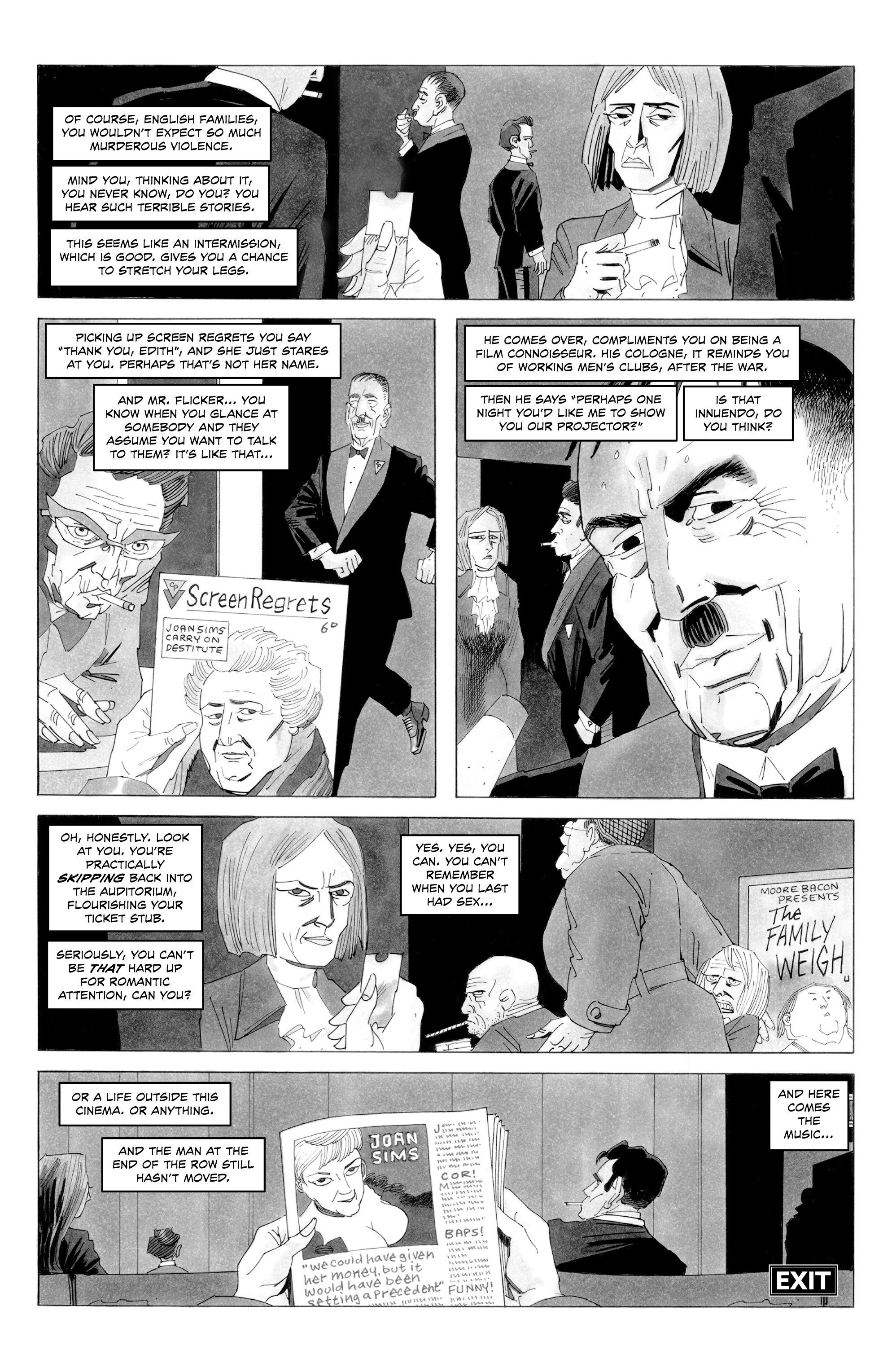 Read online Alan Moore's Cinema Purgatorio comic -  Issue #7 - 12