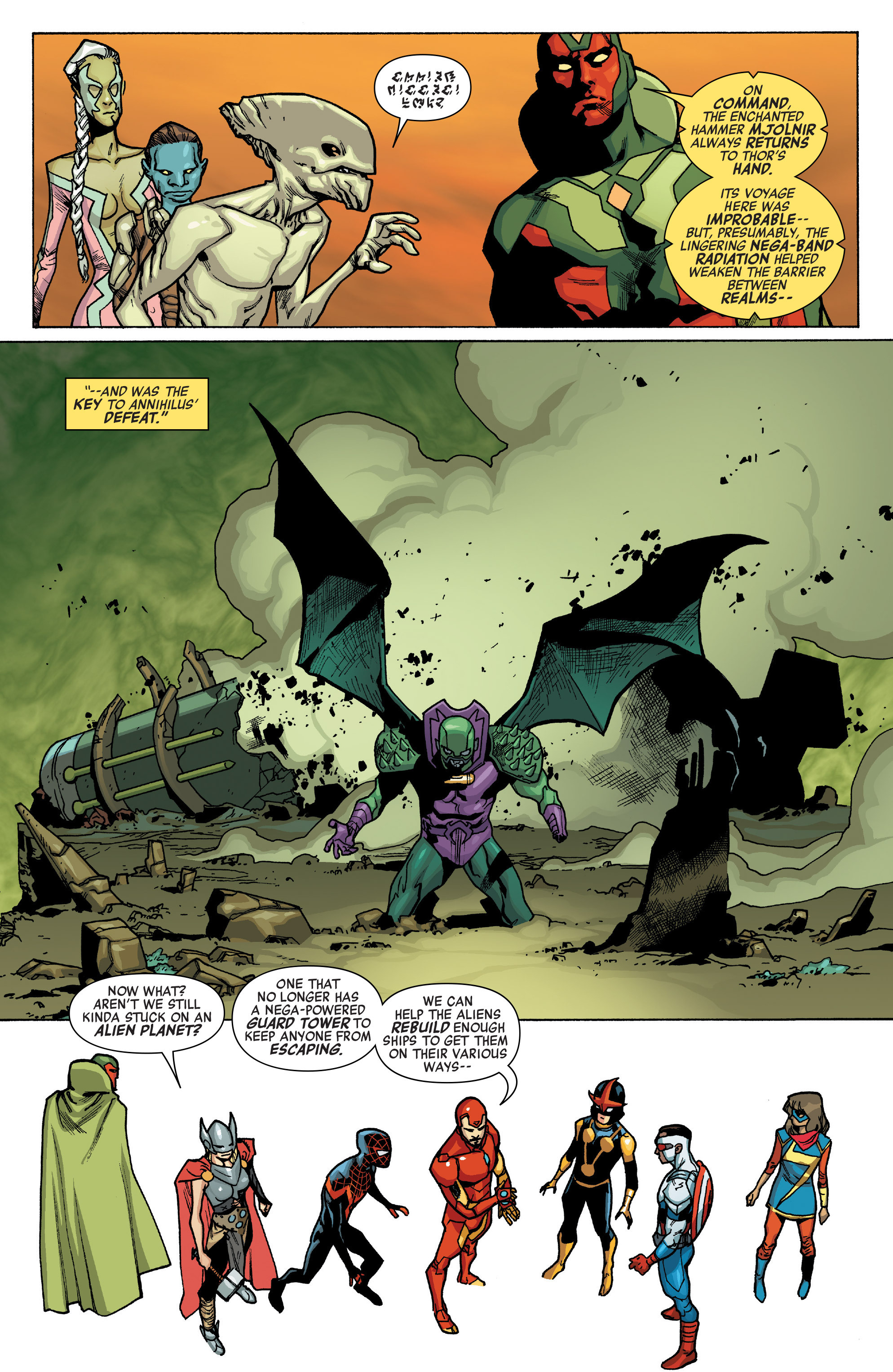 Read online All-New, All-Different Avengers comic -  Issue #12 - 20