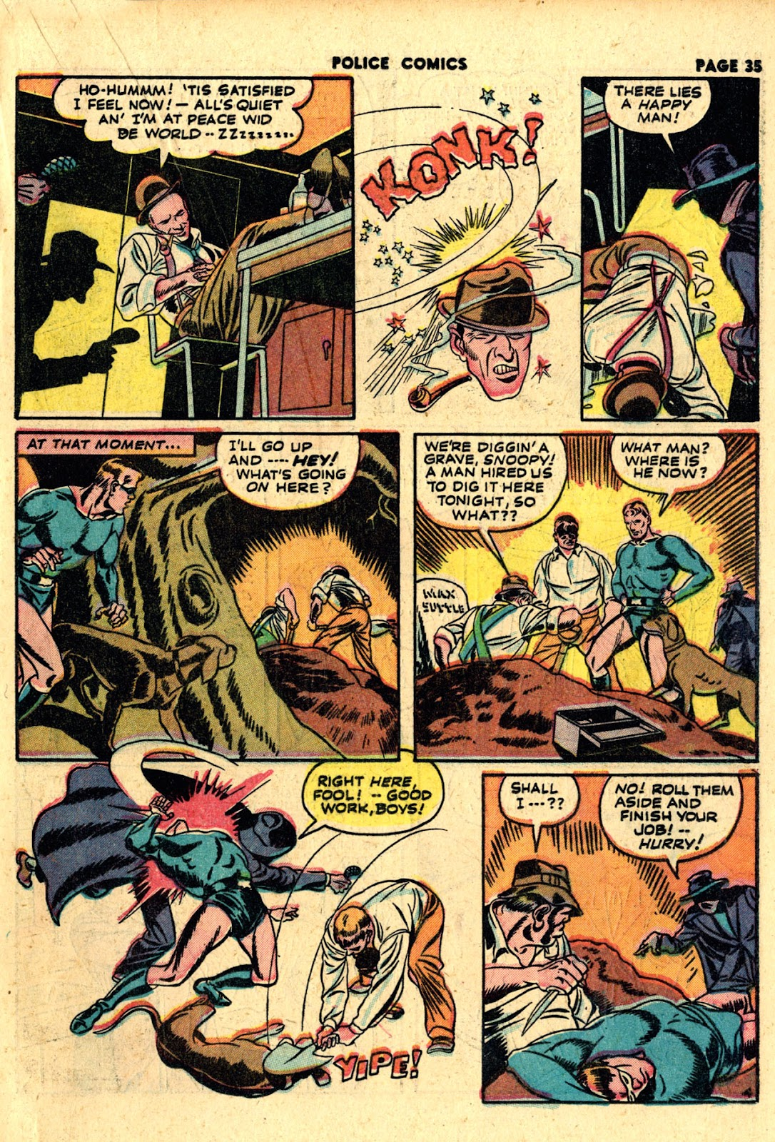 Police Comics issue 19 - Page 37