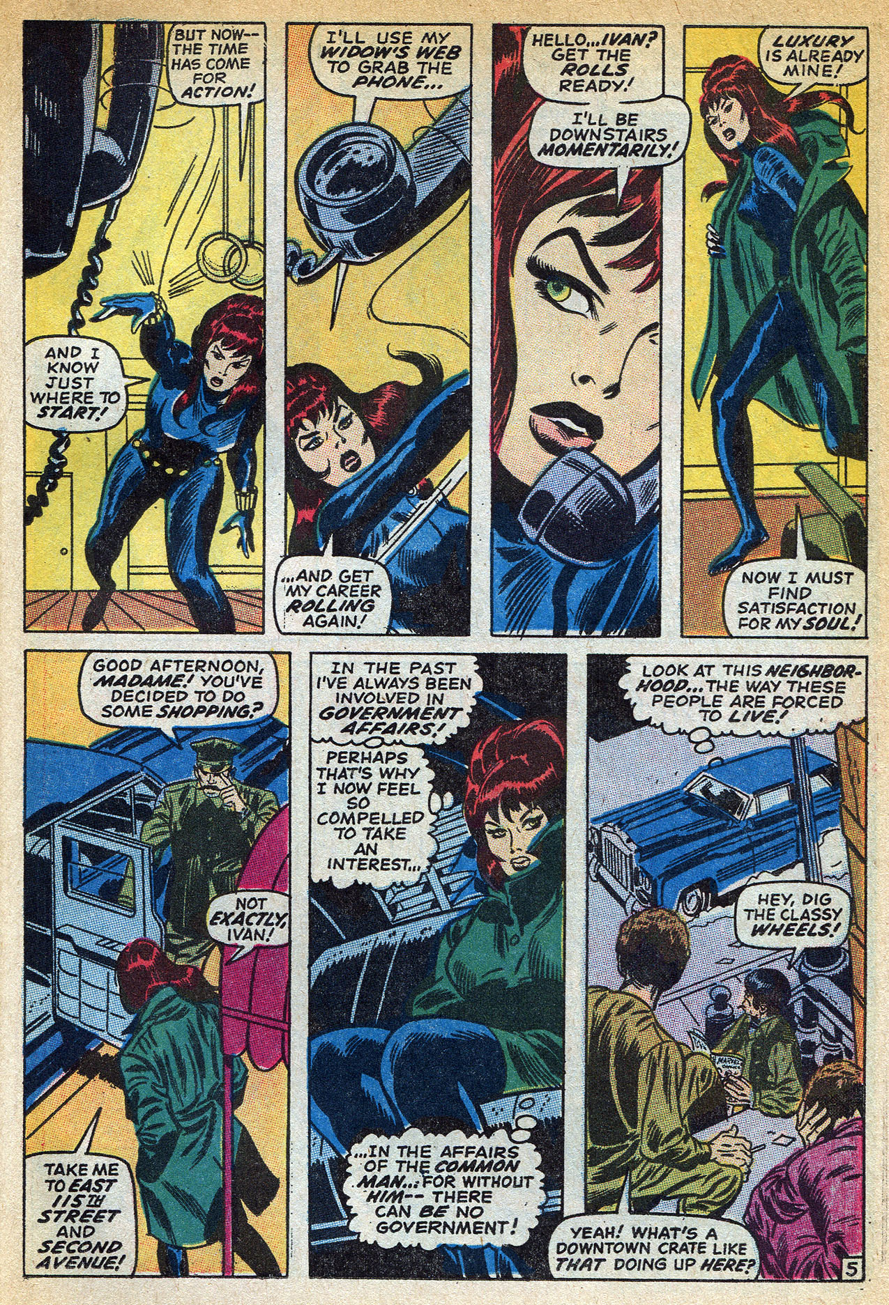 Read online Amazing Adventures (1970) comic -  Issue #1 - 23