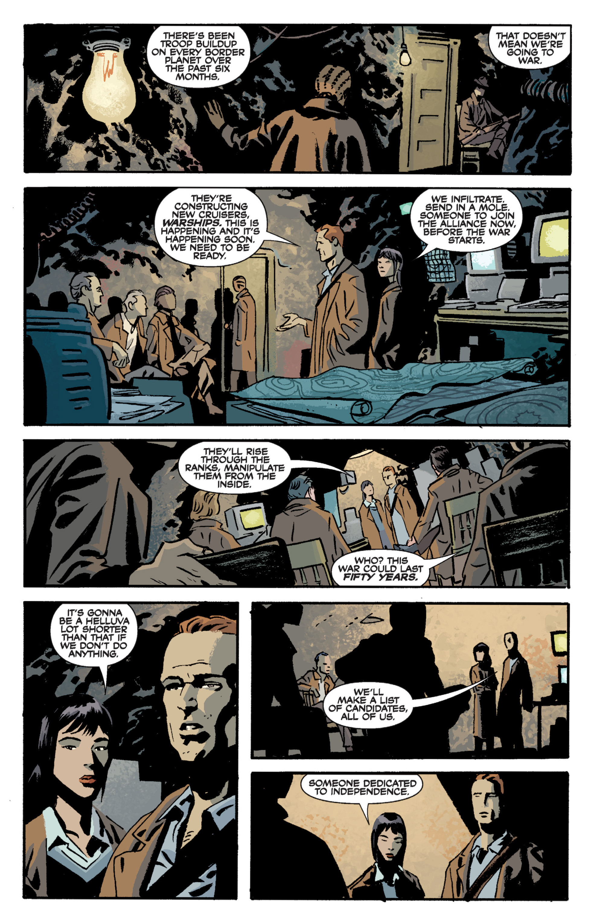 Read online Serenity Volume Three: The Shepherd's Tale comic -  Issue # TPB - 40
