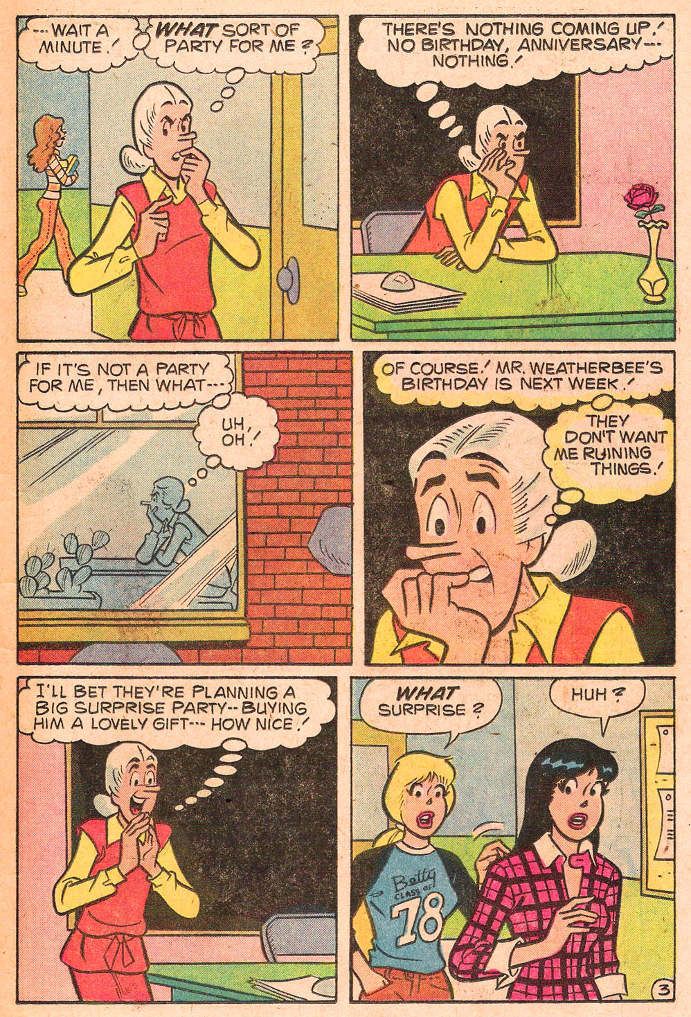 Read online Archie's Girls Betty and Veronica comic -  Issue #271 - 15