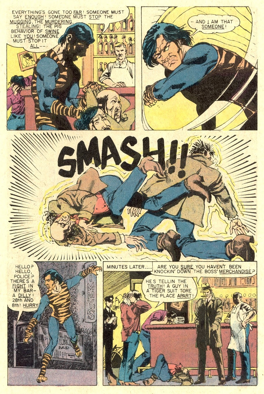 Read online Tiger-Man comic -  Issue #1 - 31