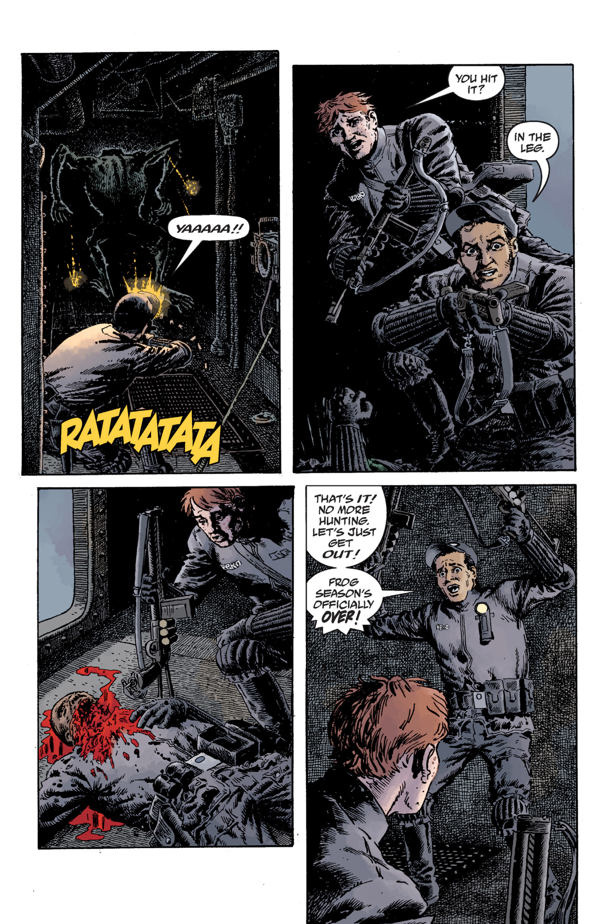 Read online B.P.R.D. (2003) comic -  Issue # TPB 12 - 72