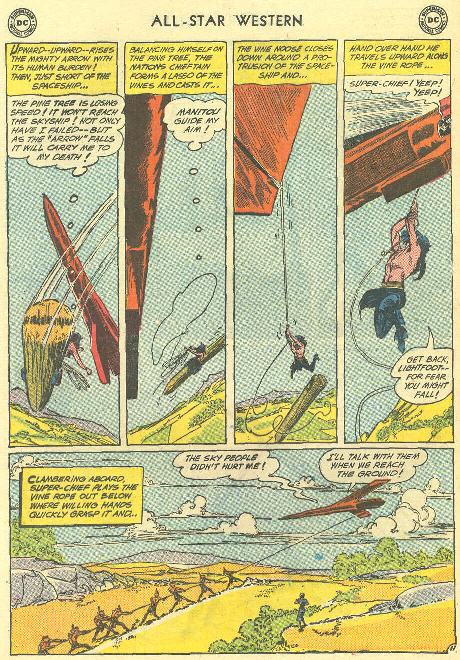 Read online All-Star Western (1951) comic -  Issue #119 - 32