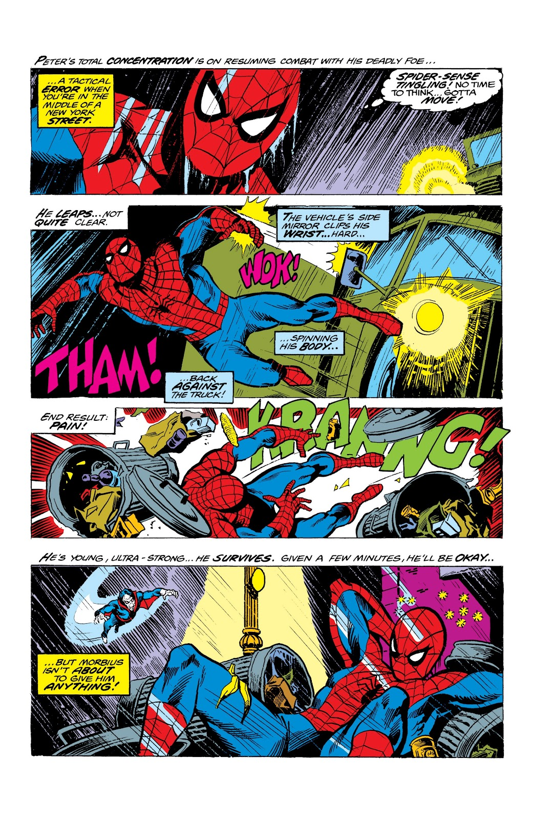 Read online Marvel Masterworks: The Spectacular Spider-Man comic -  Issue # TPB (Part 2) - 14