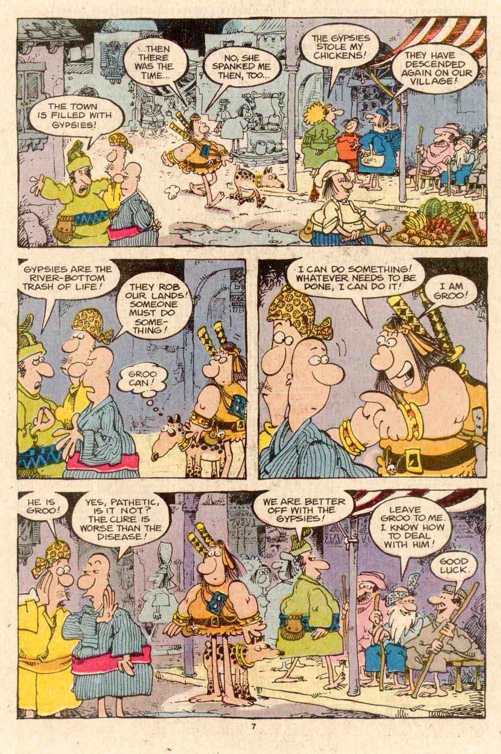 Read online Sergio Aragonés Groo the Wanderer comic -  Issue #41 - 9