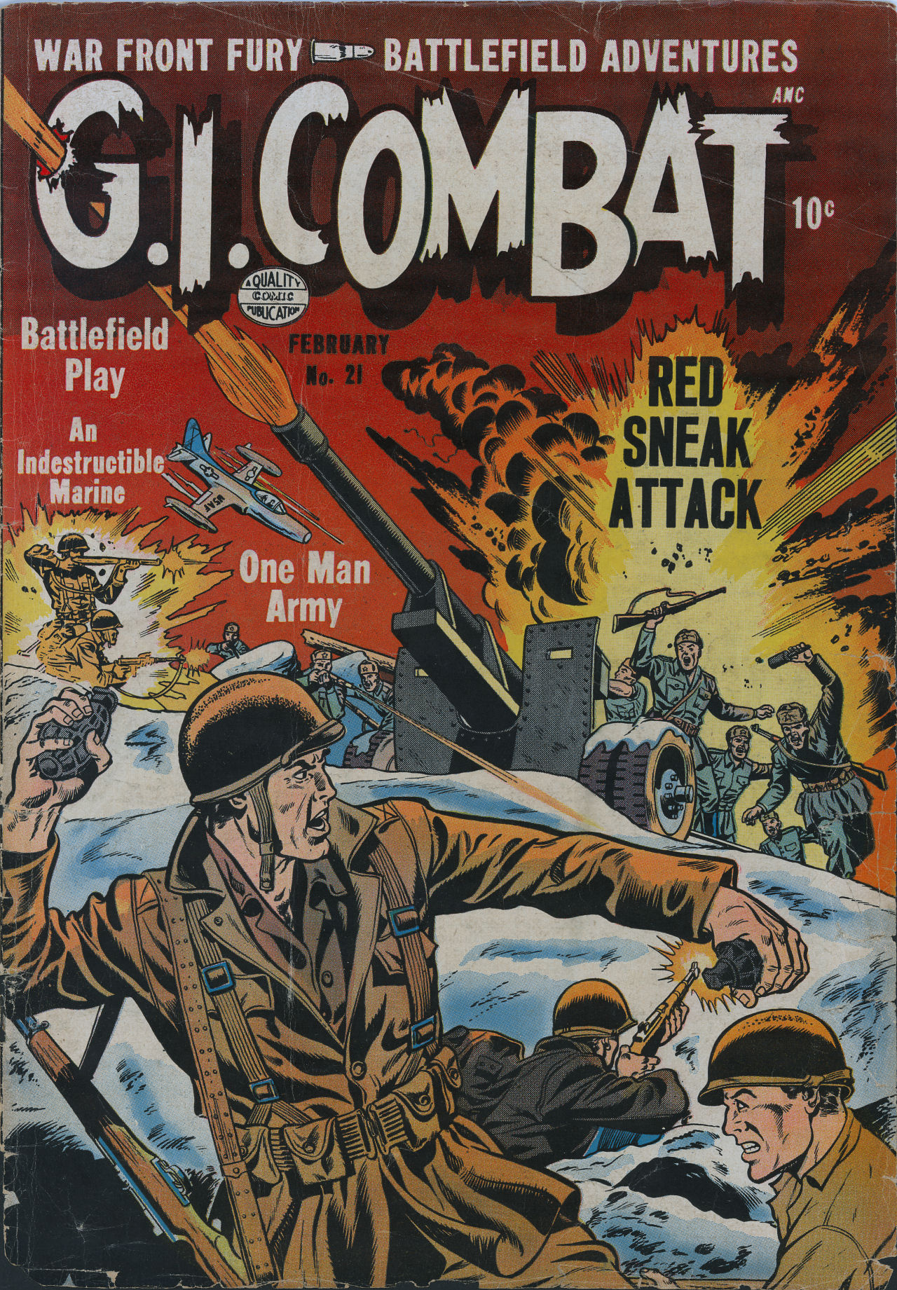 G.I. Combat (1952) 21 Page 1