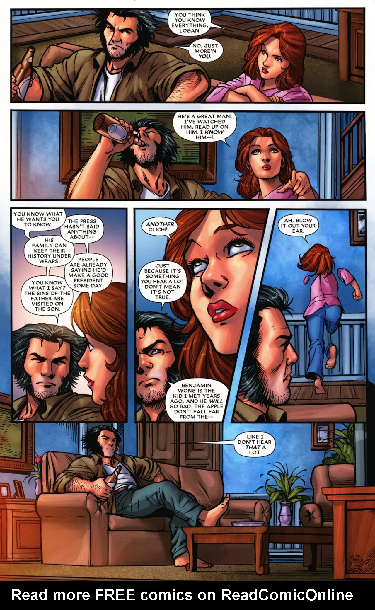 Read online Wolverine: First Class comic -  Issue #17 - 9