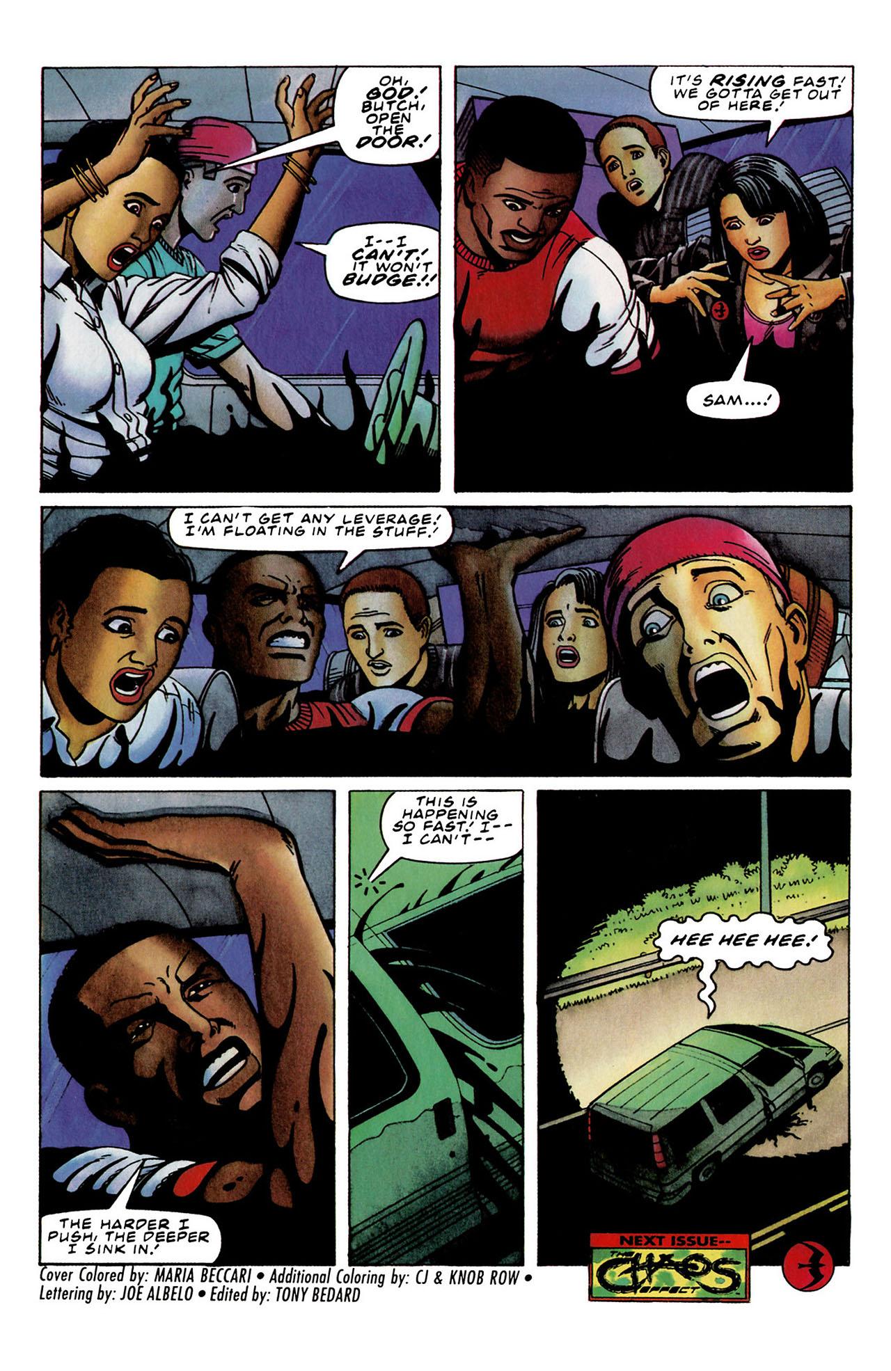 Read online Harbinger (1992) comic -  Issue #33 - 22