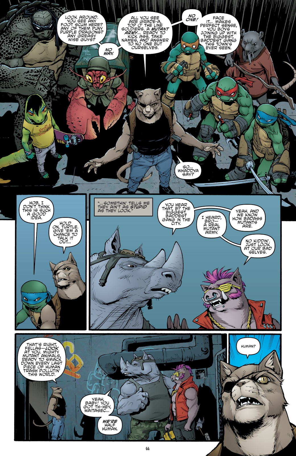 Read online Teenage Mutant Ninja Turtles: The IDW Collection comic -  Issue # TPB 5 (Part 2) - 43