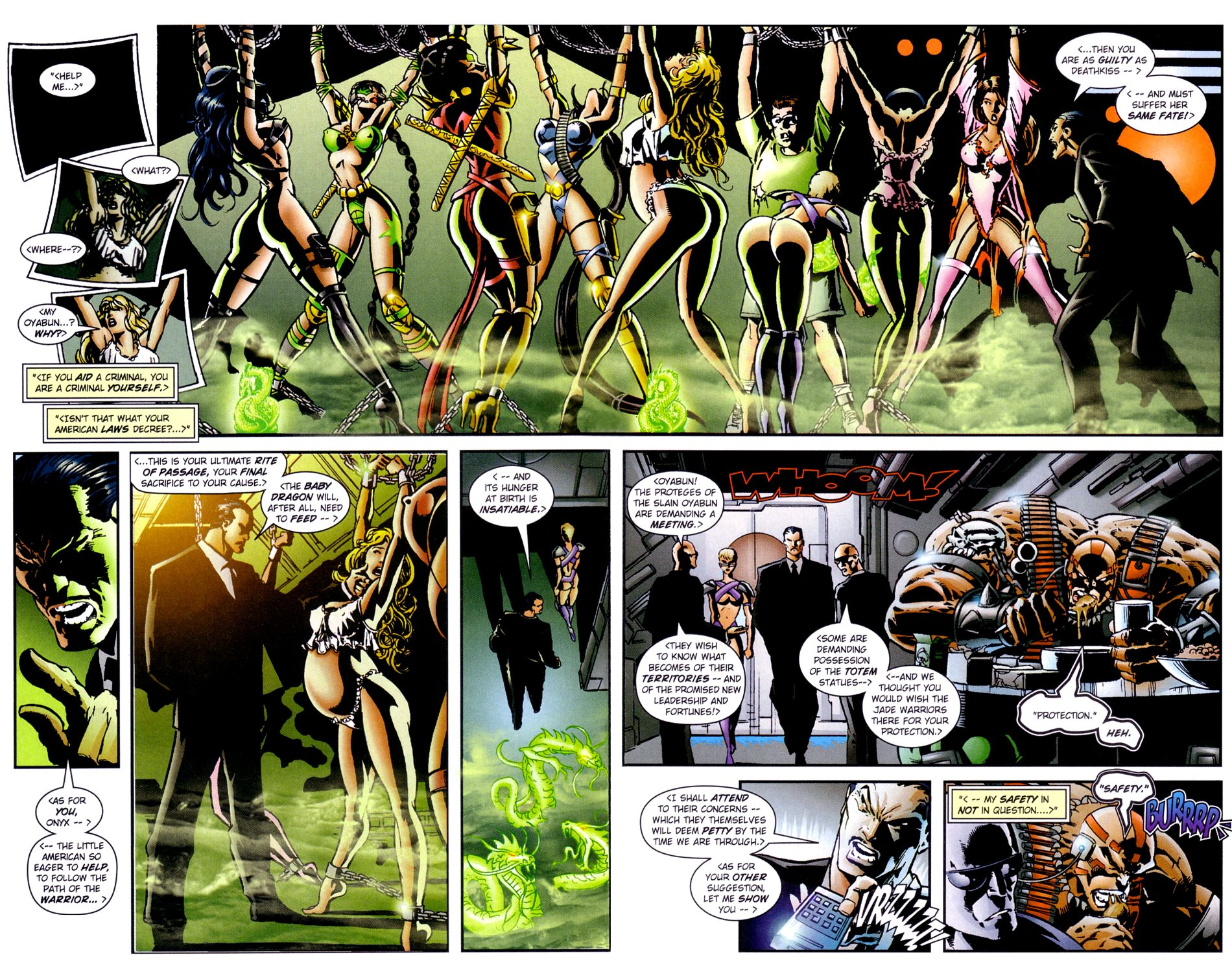 Read online Jade Warriors comic -  Issue #3 - 16